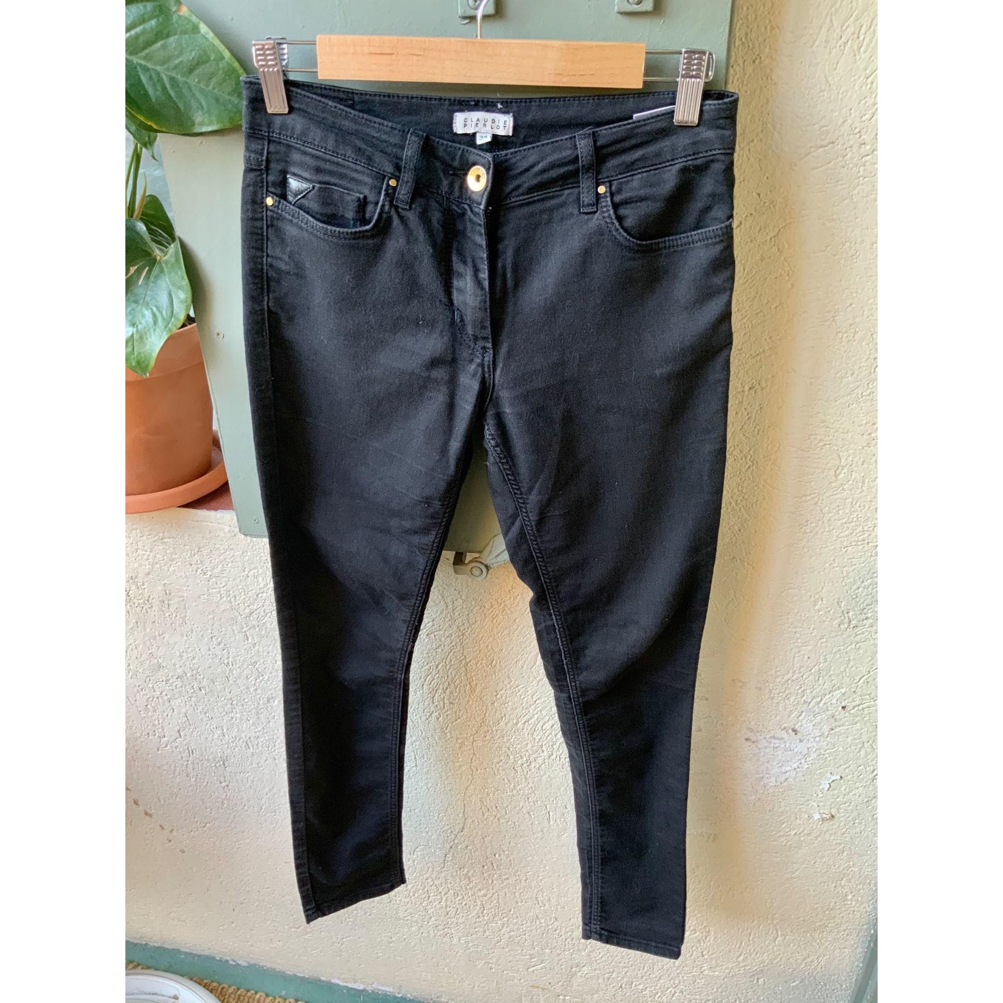 Jeans slim CLAUDIE PIERLOT Noir