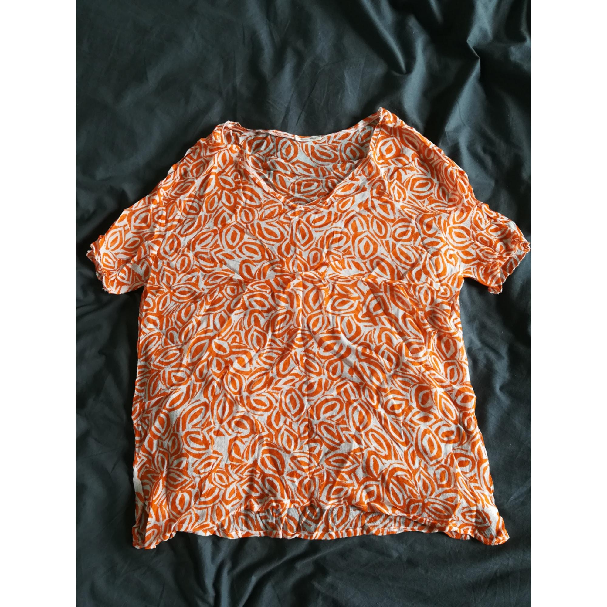 Top, tee-shirt AMERICAN VINTAGE Orange