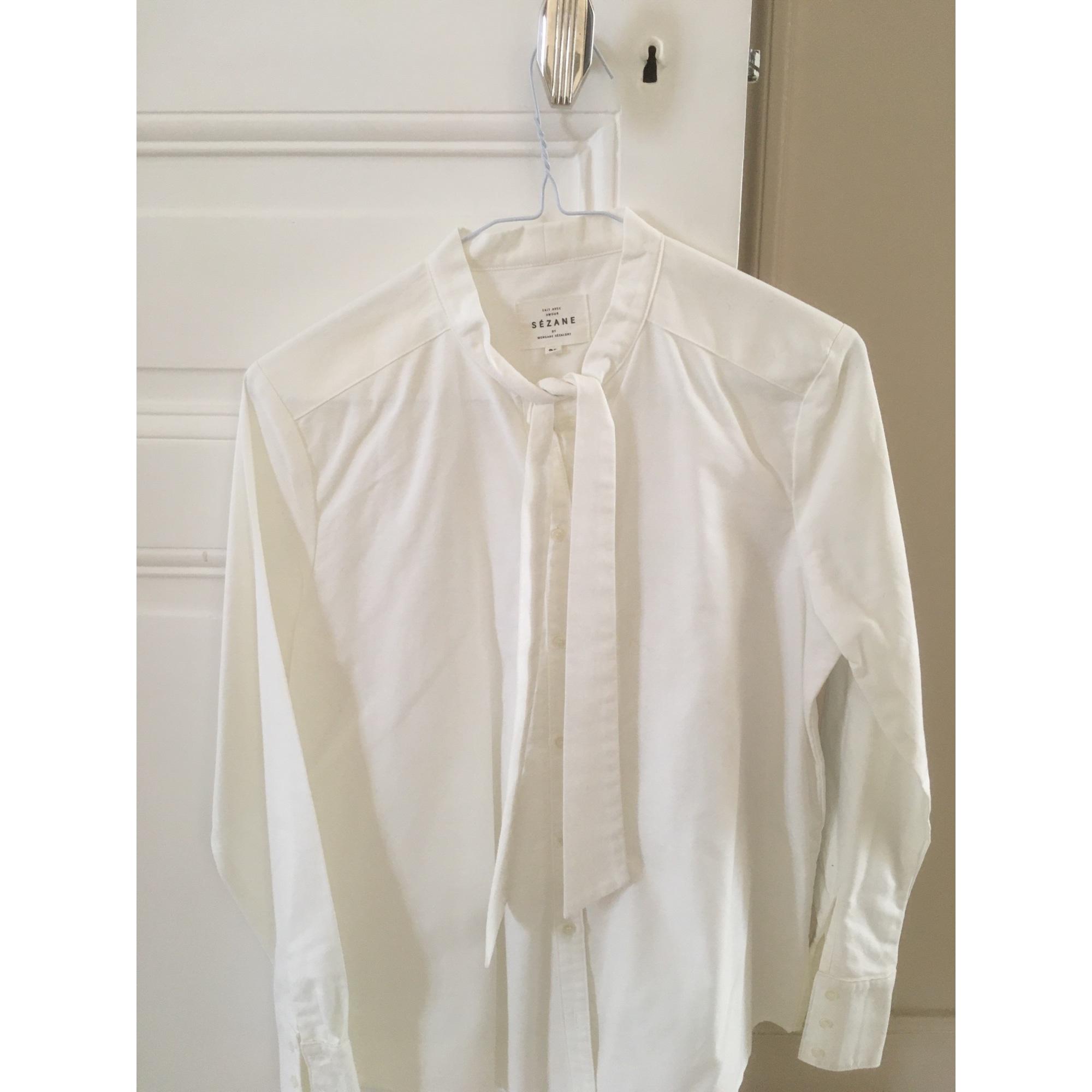 Chemise SÉZANE Blanc, blanc cassé, écru