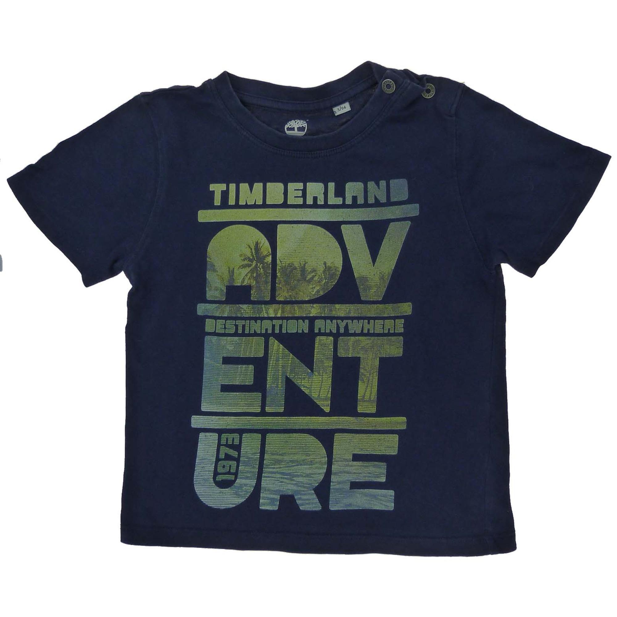Tee-shirt TIMBERLAND Bleu, bleu marine, bleu turquoise
