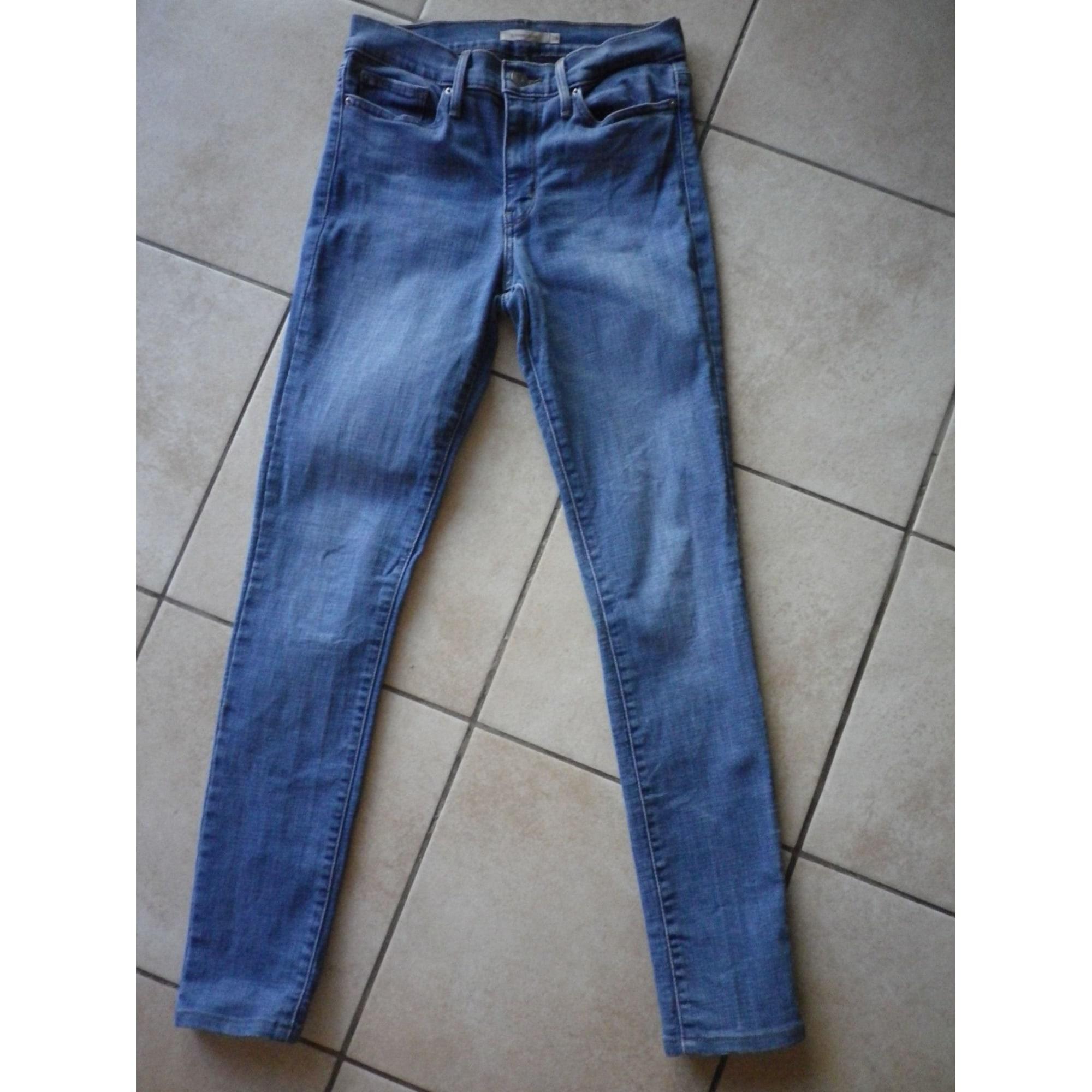 Jeans droit LEVI'S Bleu, bleu marine, bleu turquoise
