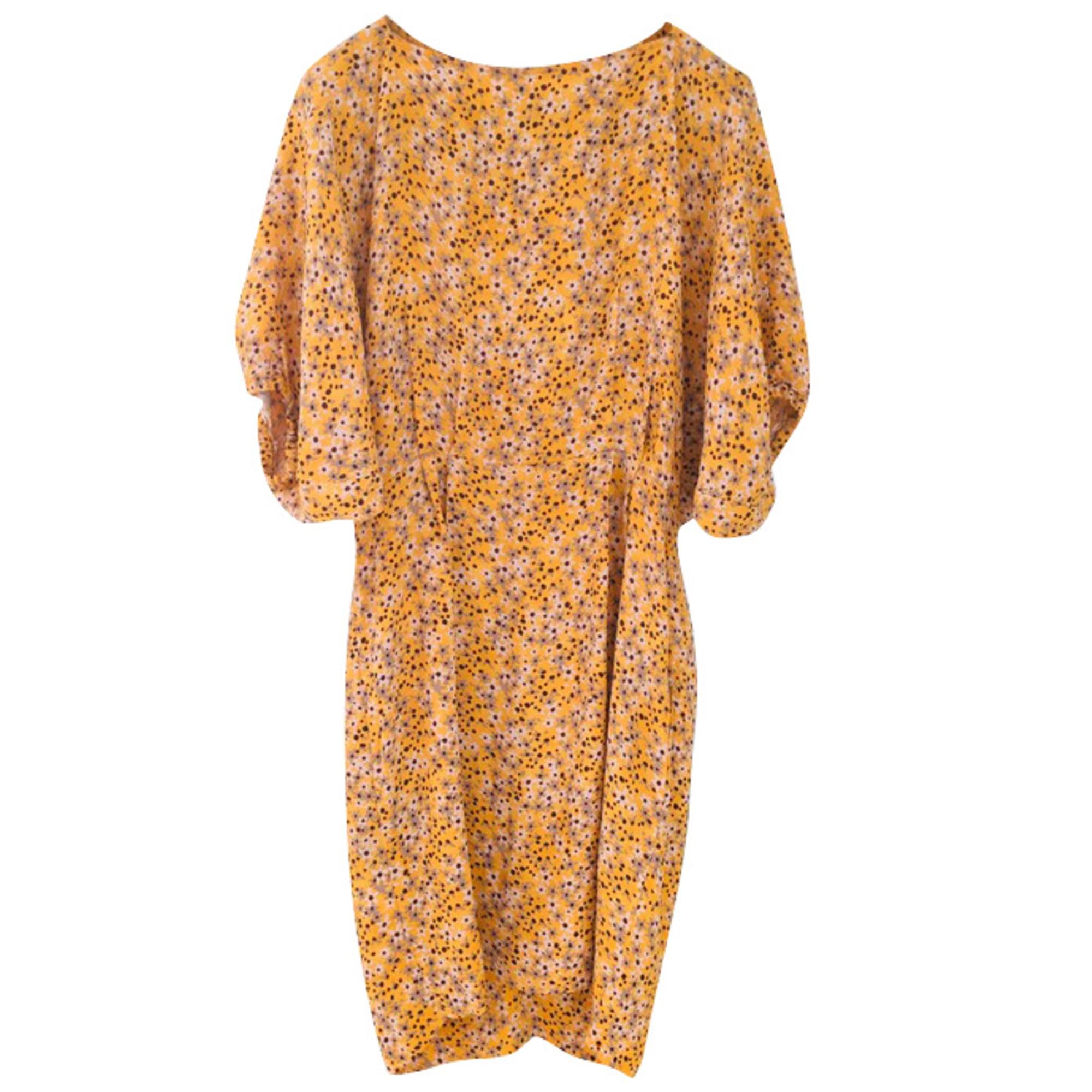 Robe mi-longue SEE BY CHLOE Jaune