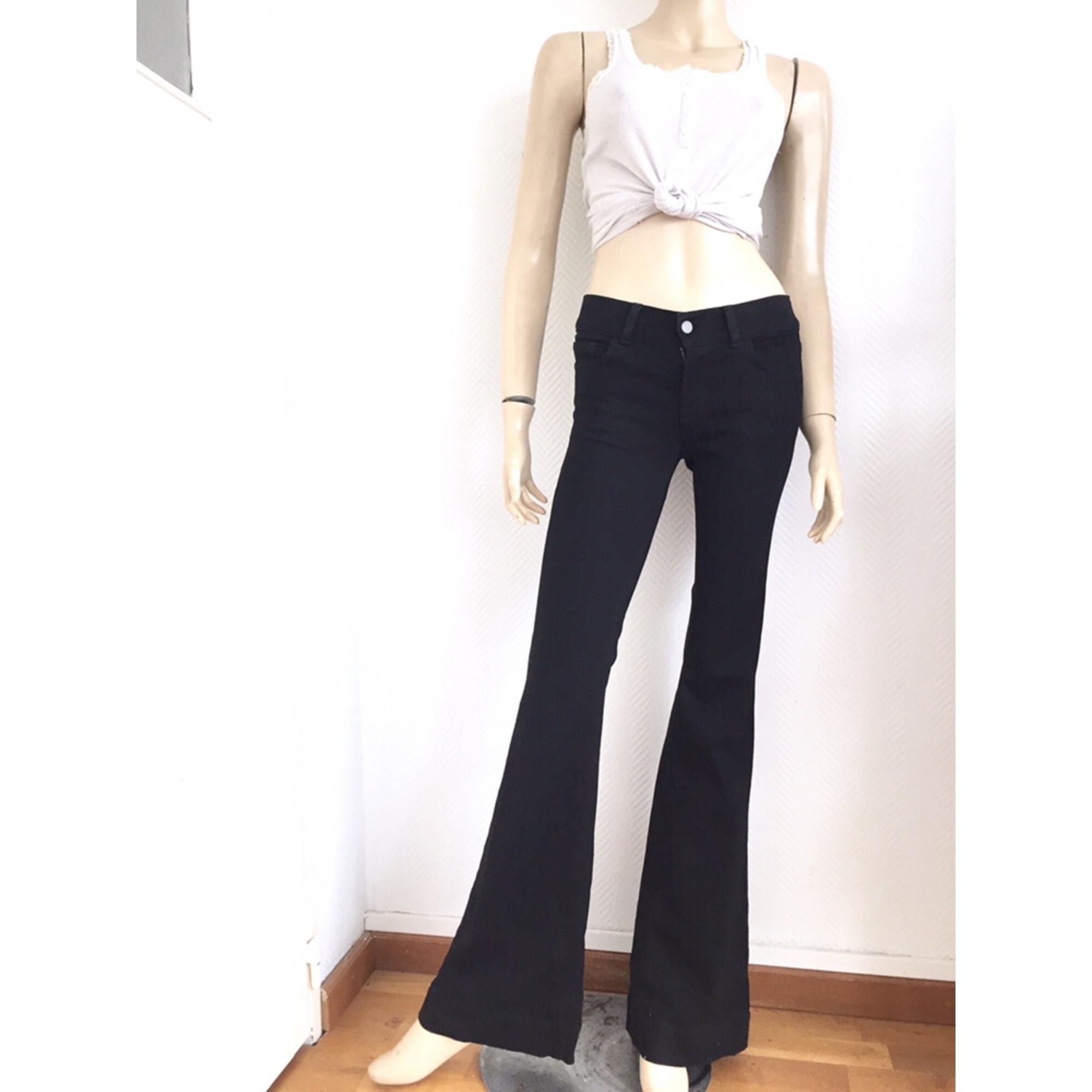 Jeans évasé, boot-cut J BRAND Noir