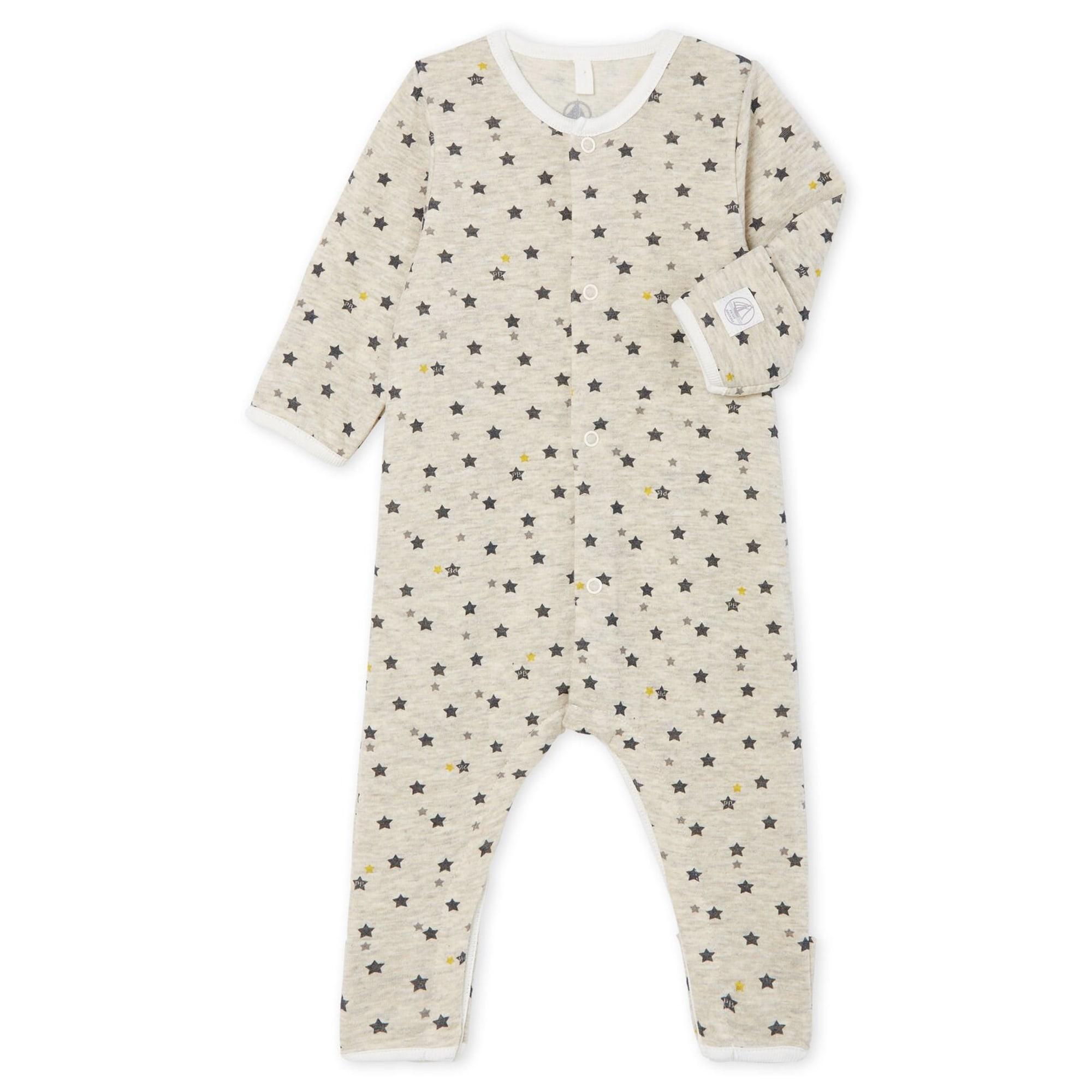 Pyjama PETIT BATEAU Gris, anthracite