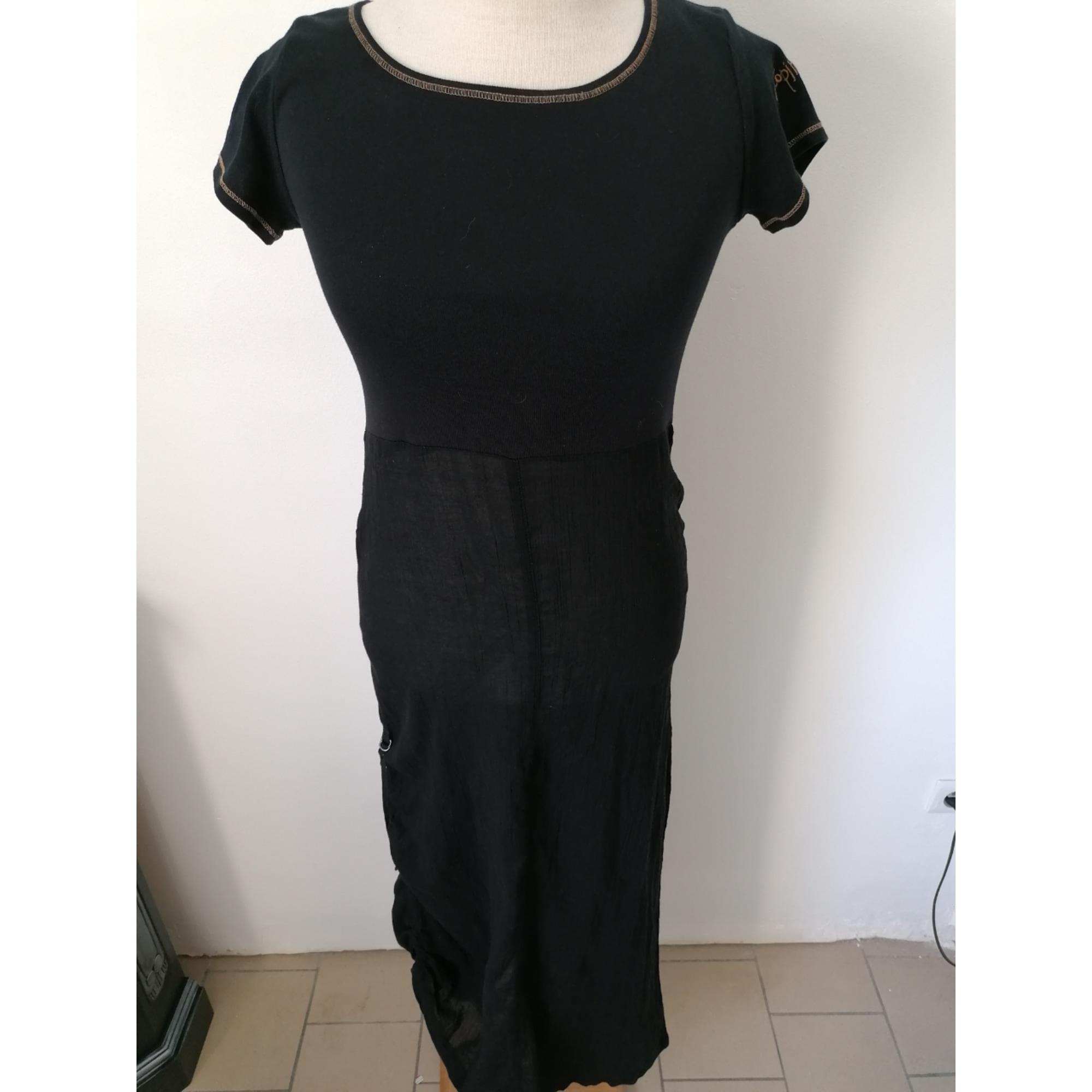 Robe longue COP-COPINE Noir