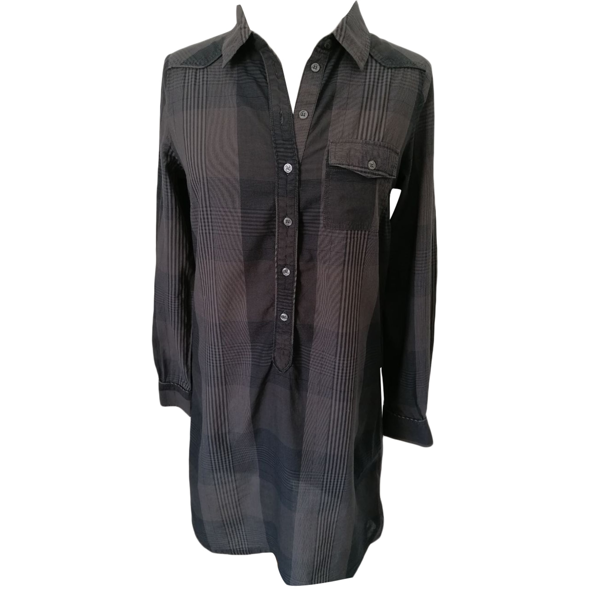 Robe tunique COMPTOIR DES COTONNIERS Marron