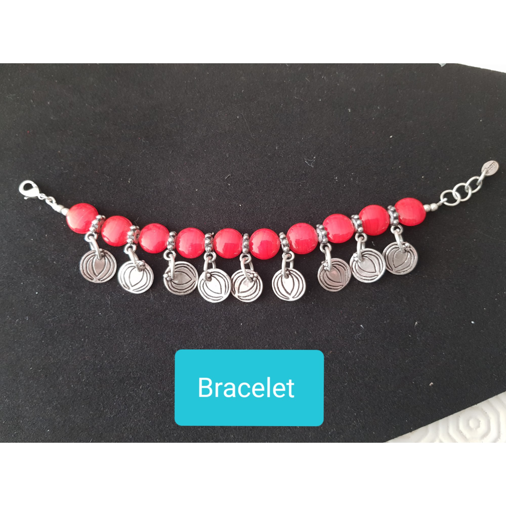 Bracelet SCOOTER Rouge, bordeaux