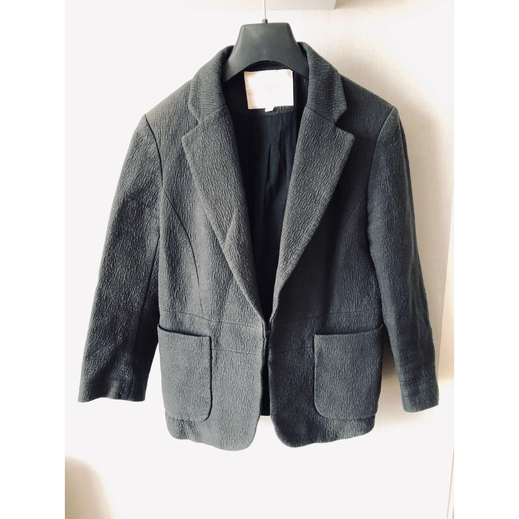 Blazer, veste tailleur MAJE Gris, anthracite