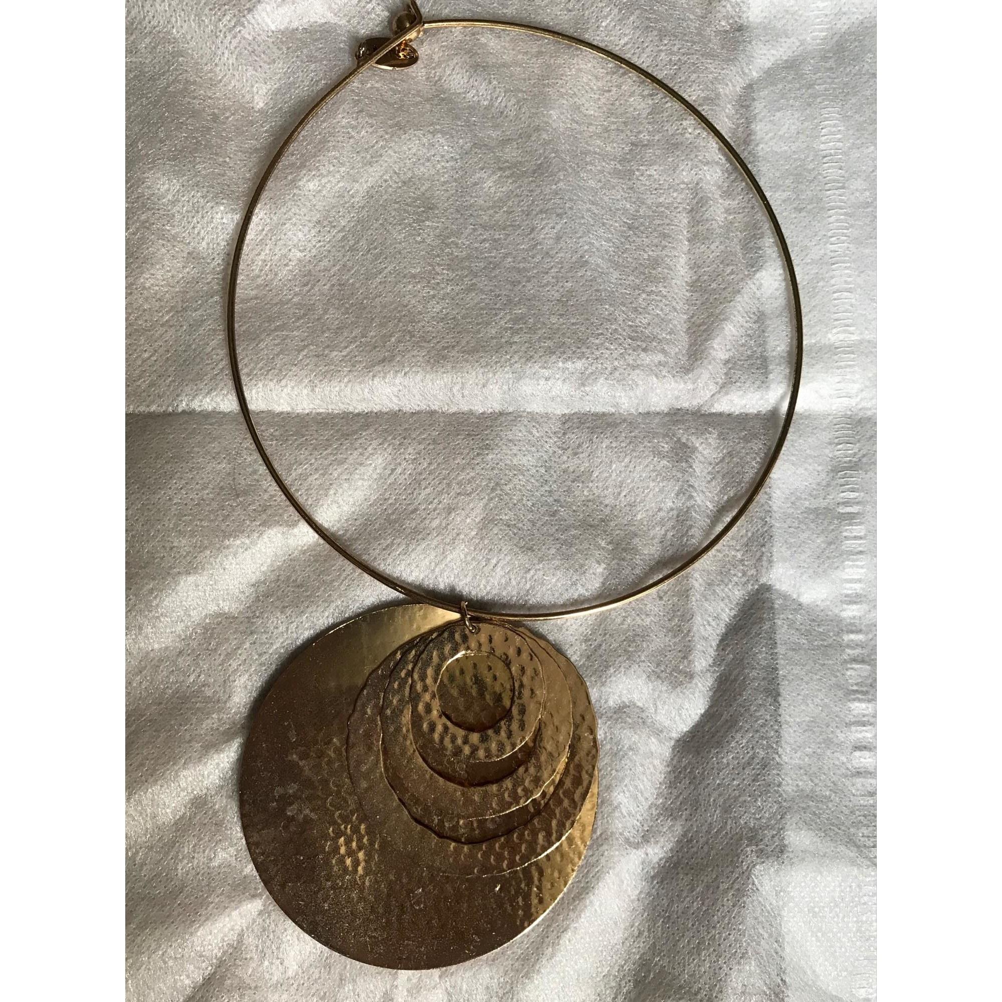 Collier MANGO Doré, bronze, cuivre