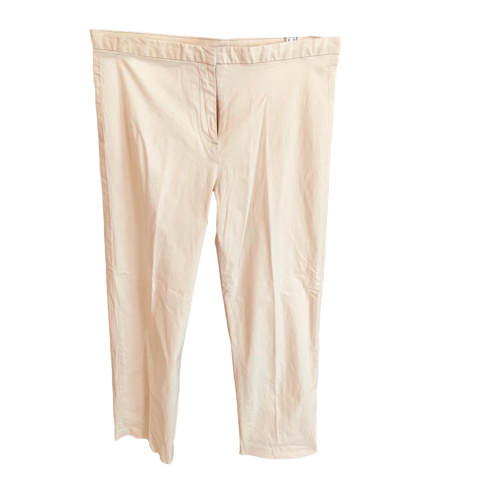 Jeans droit PEPE JEANS Beige, camel
