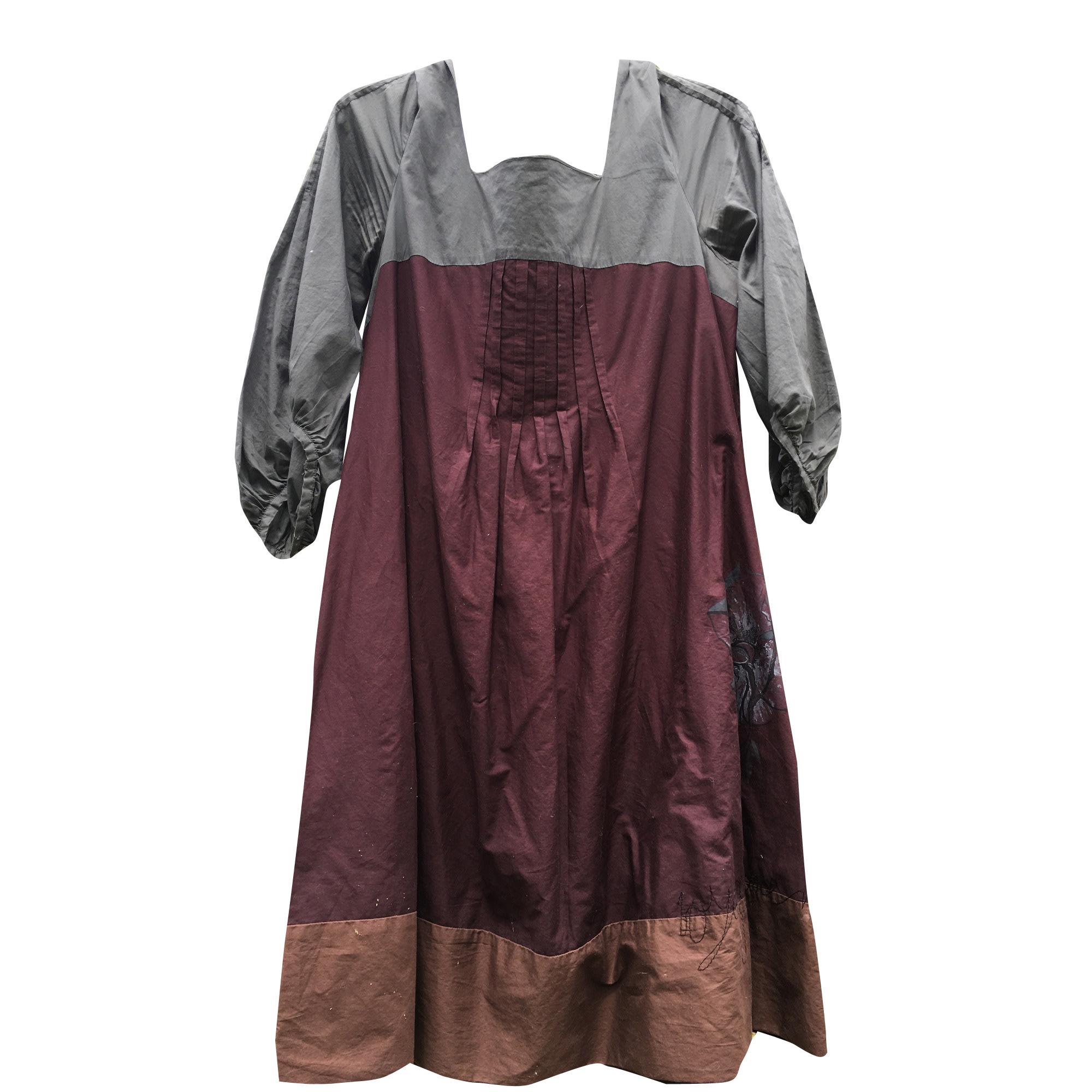 Robe mi-longue COP-COPINE Multicouleur