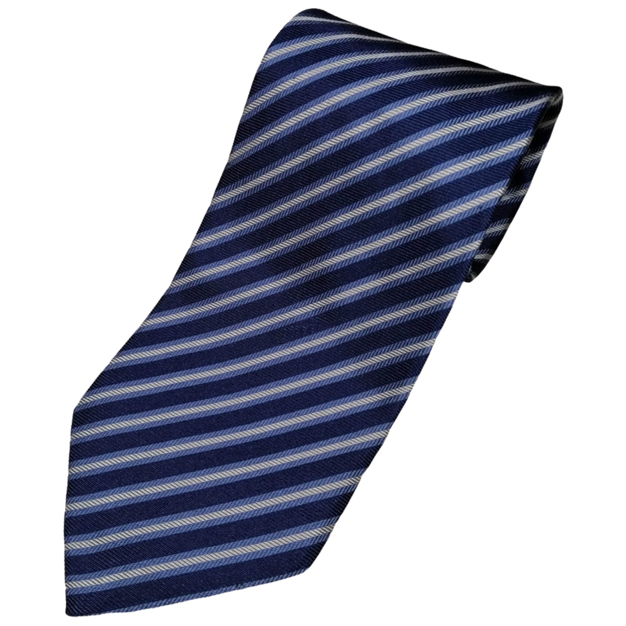 Cravate ARMANI Bleu, bleu marine, bleu turquoise