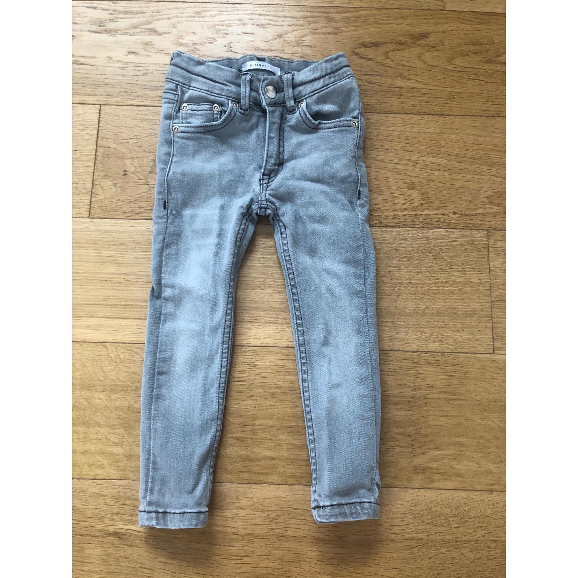 Pantalon ANINE BING Gris, anthracite