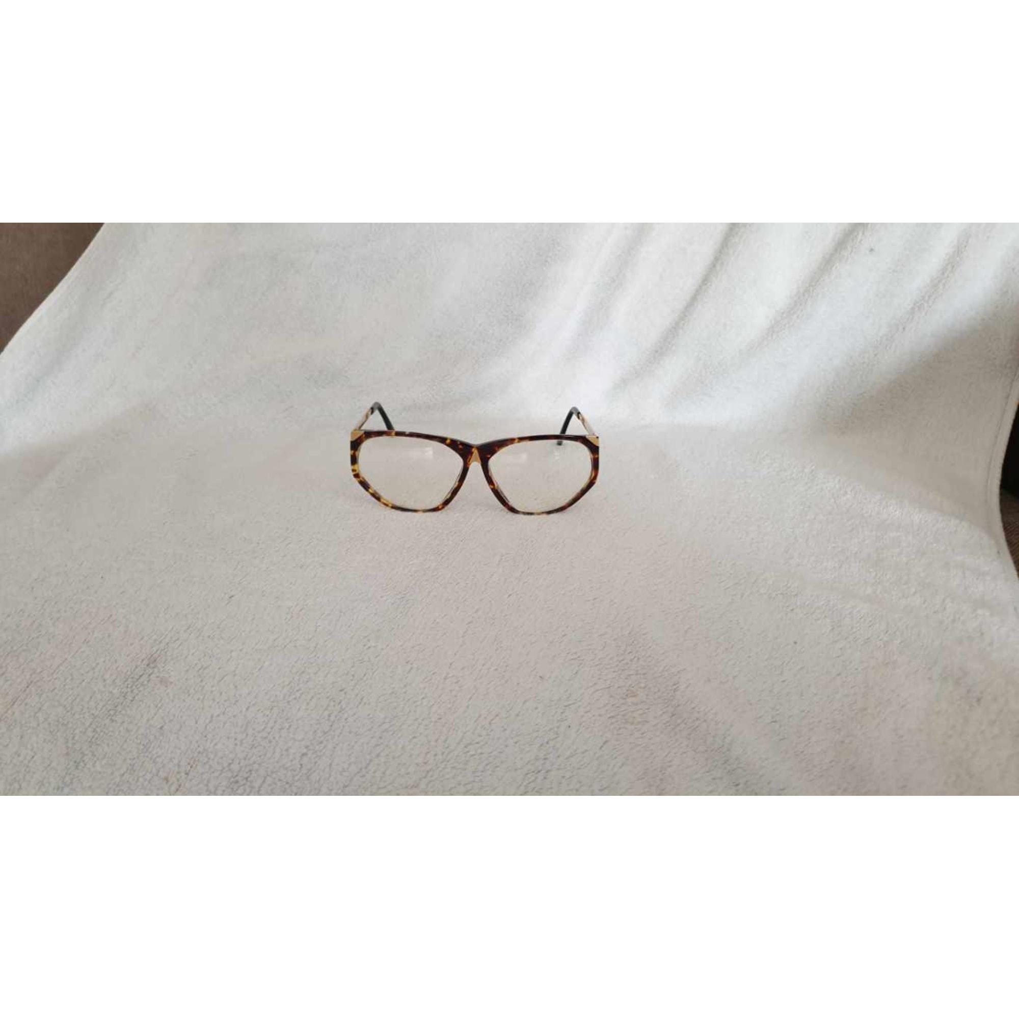 Monture de lunettes YVES SAINT LAURENT écaille et dorée