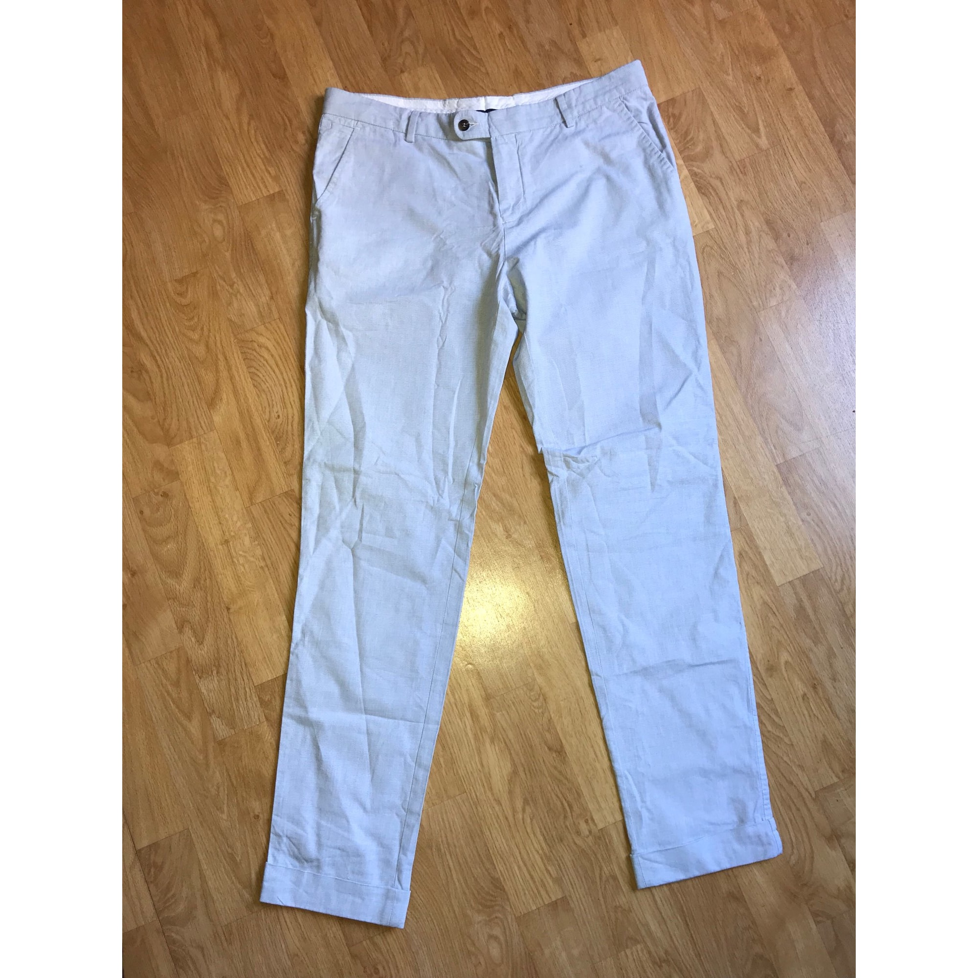 Pantalon droit MC GREGOR Bleu, bleu marine, bleu turquoise