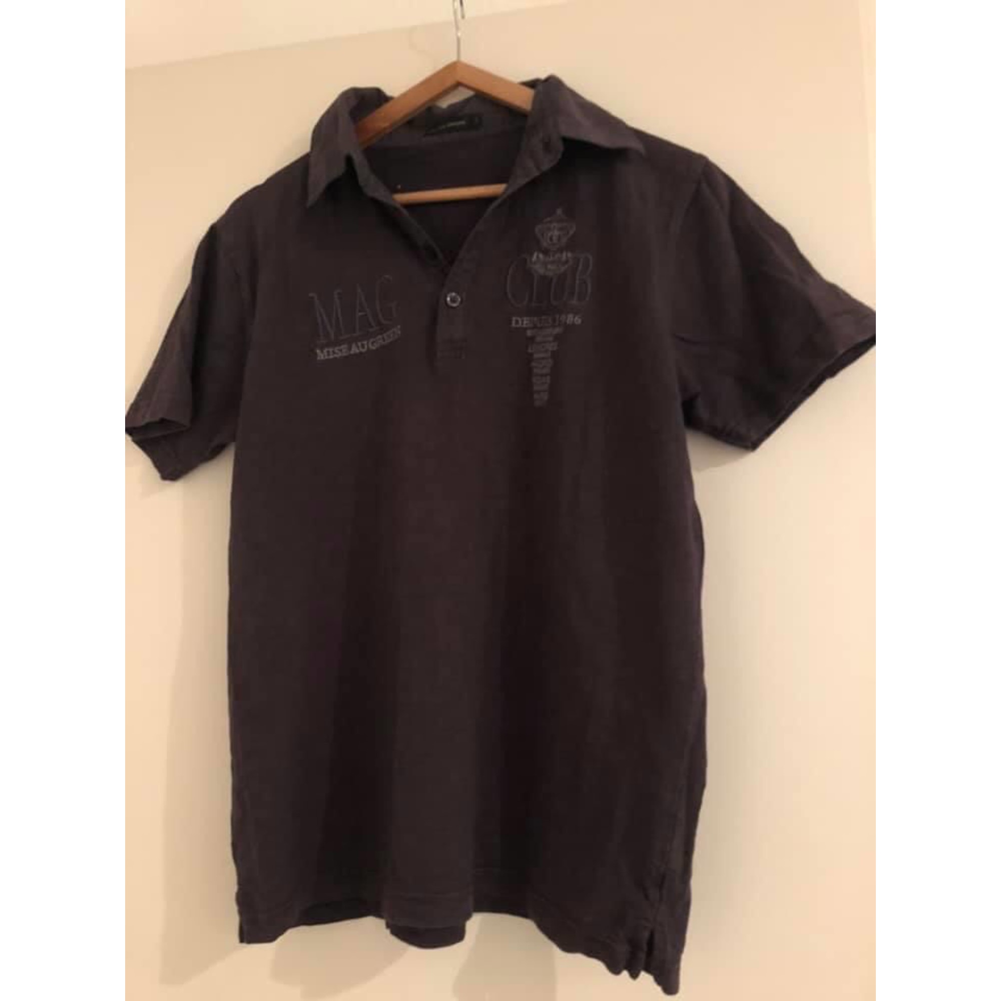 Polo MISE AU GREEN Gris, anthracite