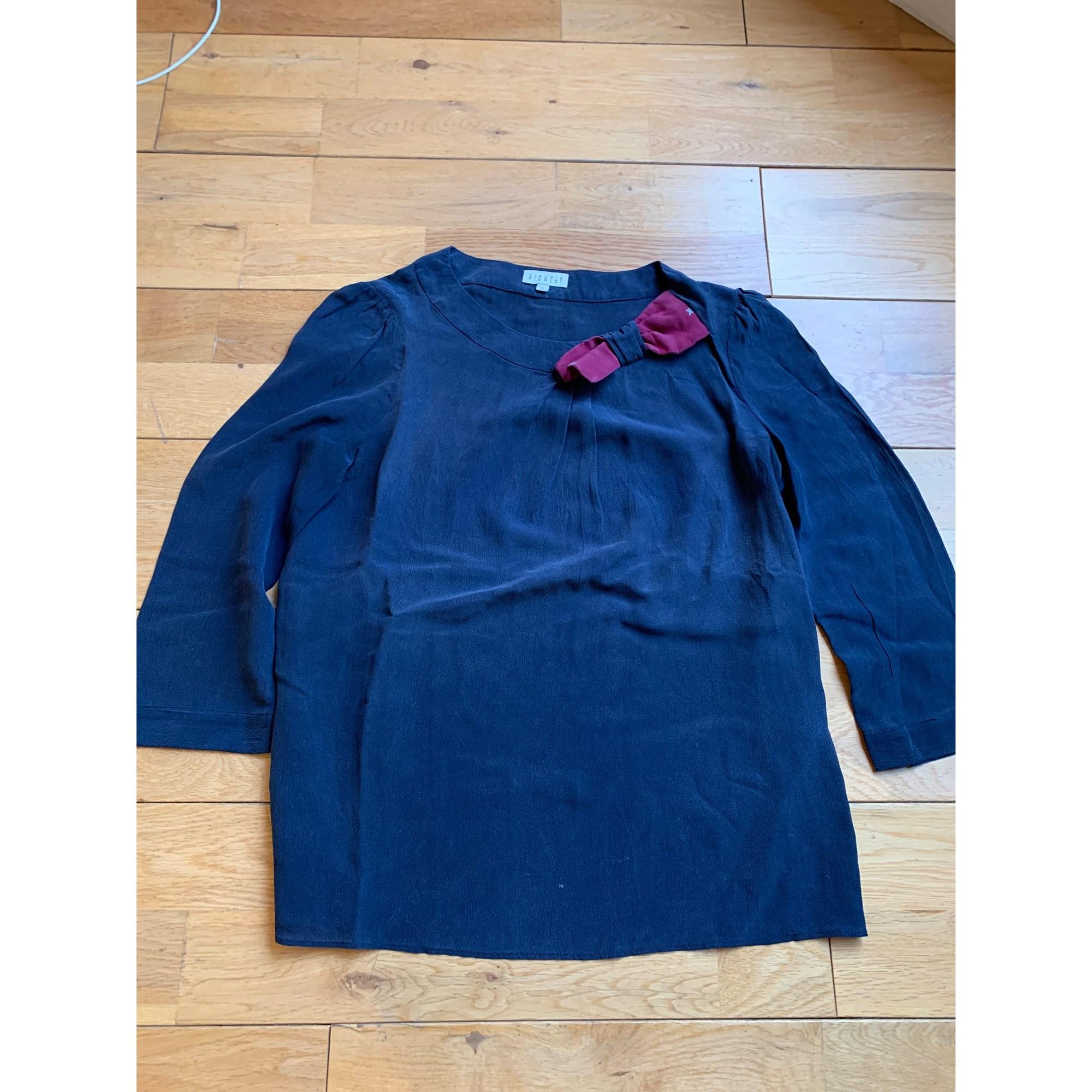 Tunique CLAUDIE PIERLOT Bleu, bleu marine, bleu turquoise