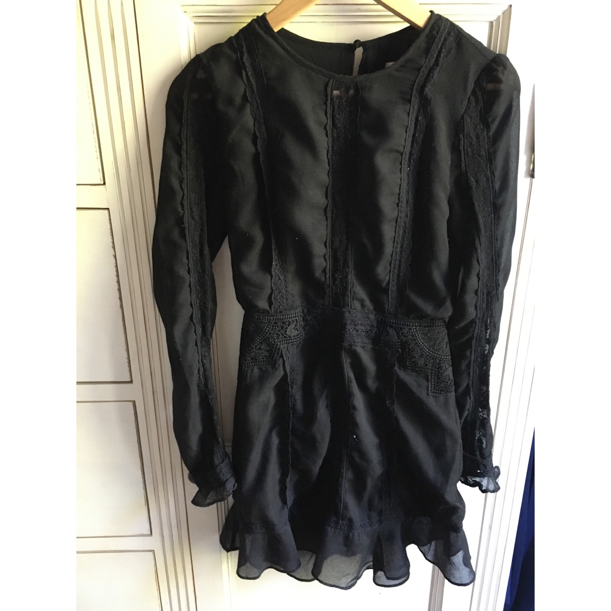 Robe courte THE JETSET DIARIES Noir