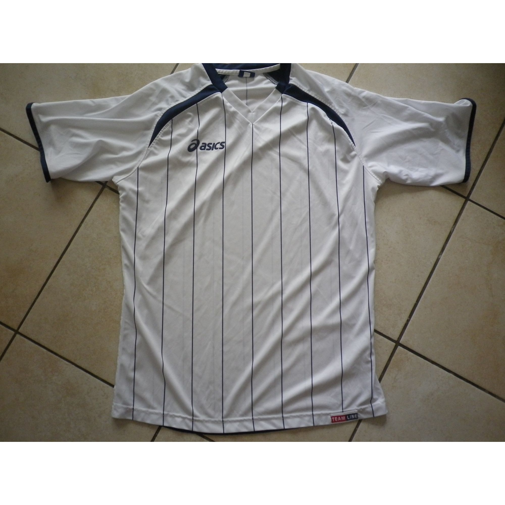 Tee-shirt ASICS Blanc, blanc cassé, écru