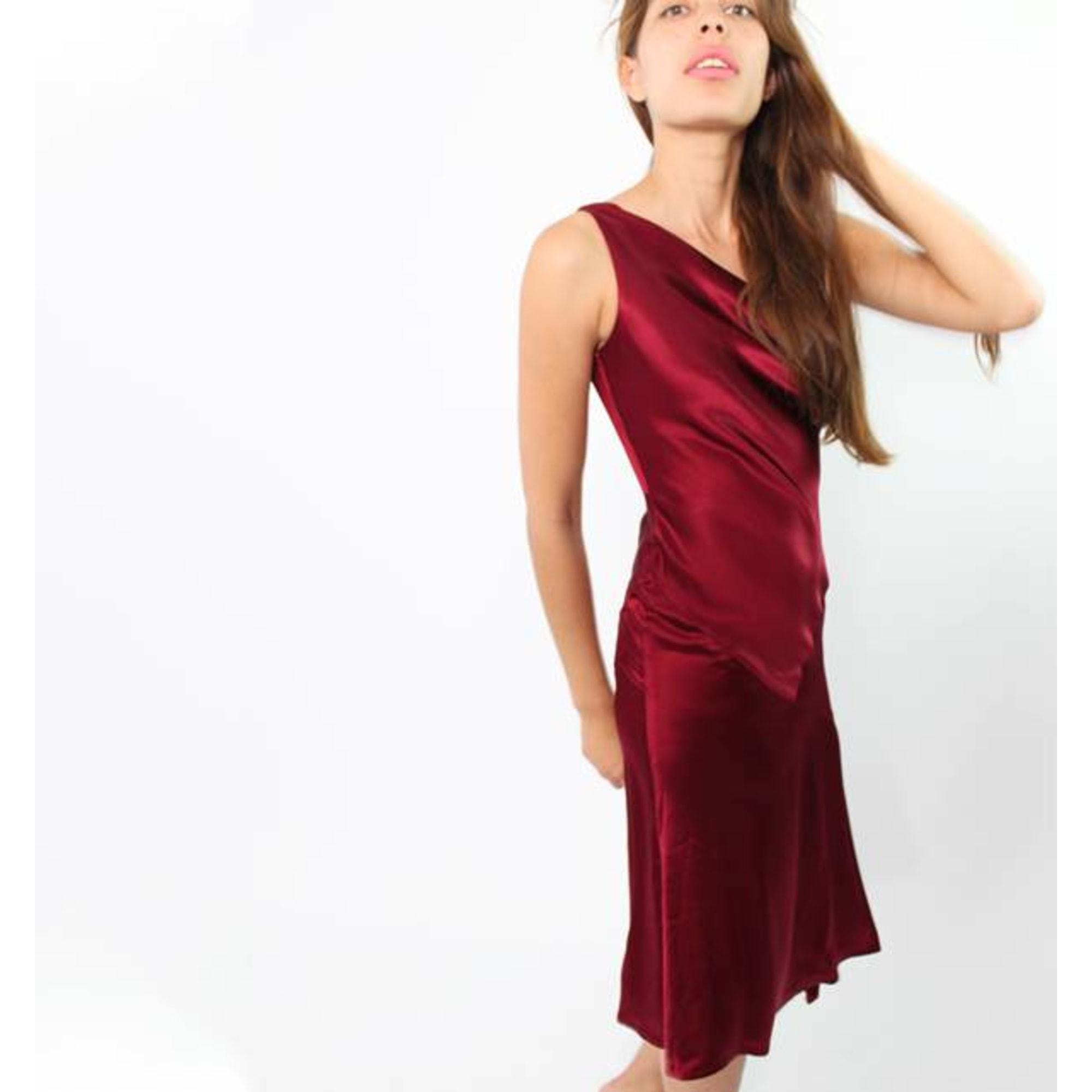 Robe mi-longue TARA JARMON Rose, fuschia, vieux rose