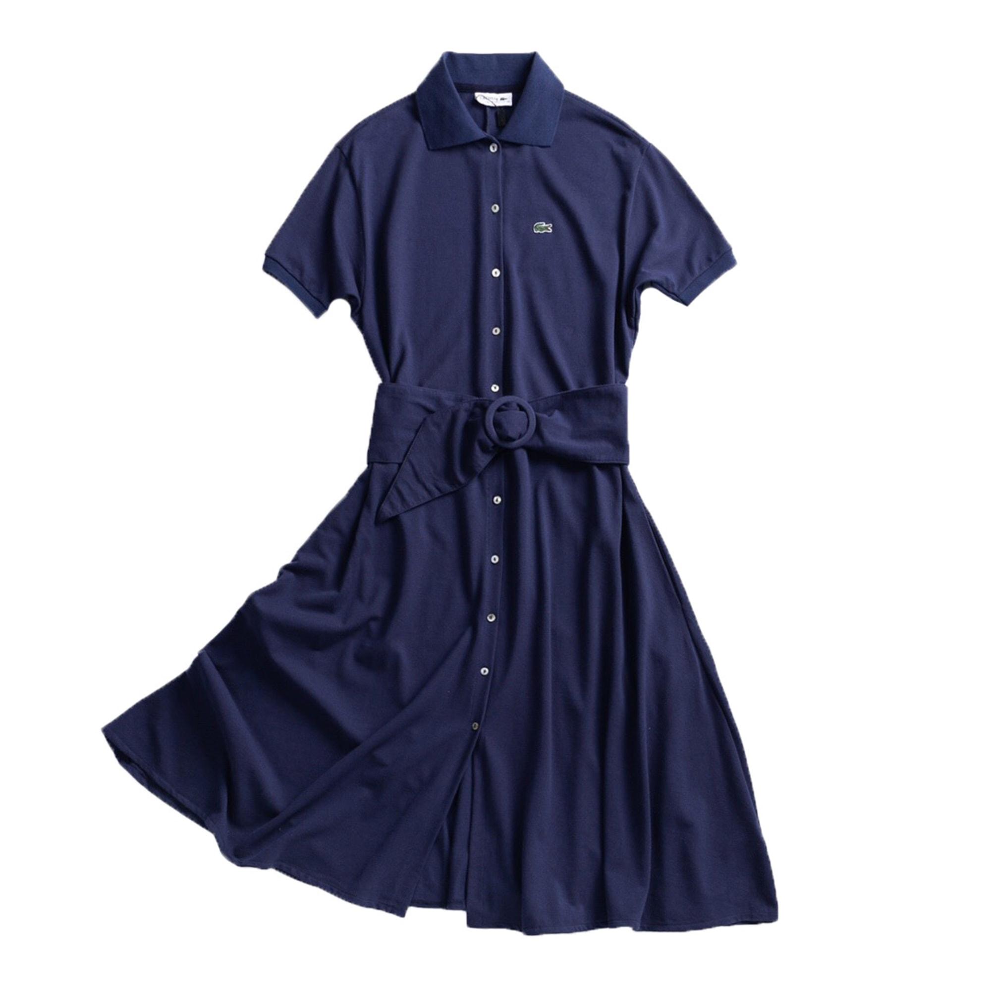 Robe mi-longue LACOSTE Bleu, bleu marine, bleu turquoise