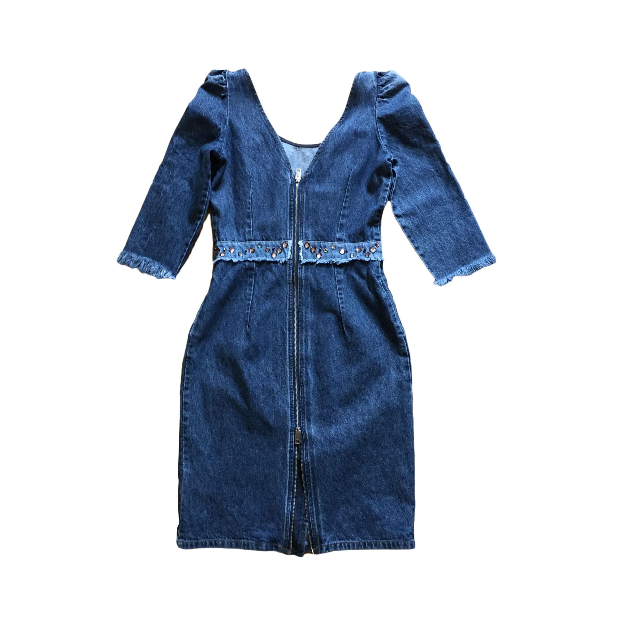 Robe mi-longue DIESEL Bleu, bleu marine, bleu turquoise