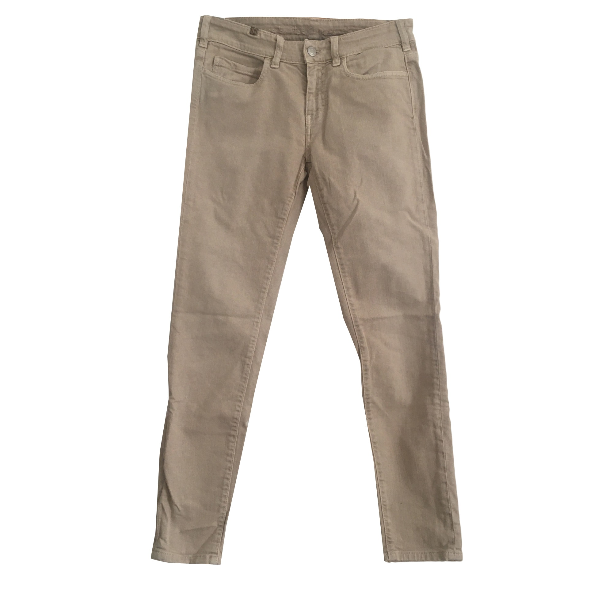 Jeans slim NOTIFY Beige, camel