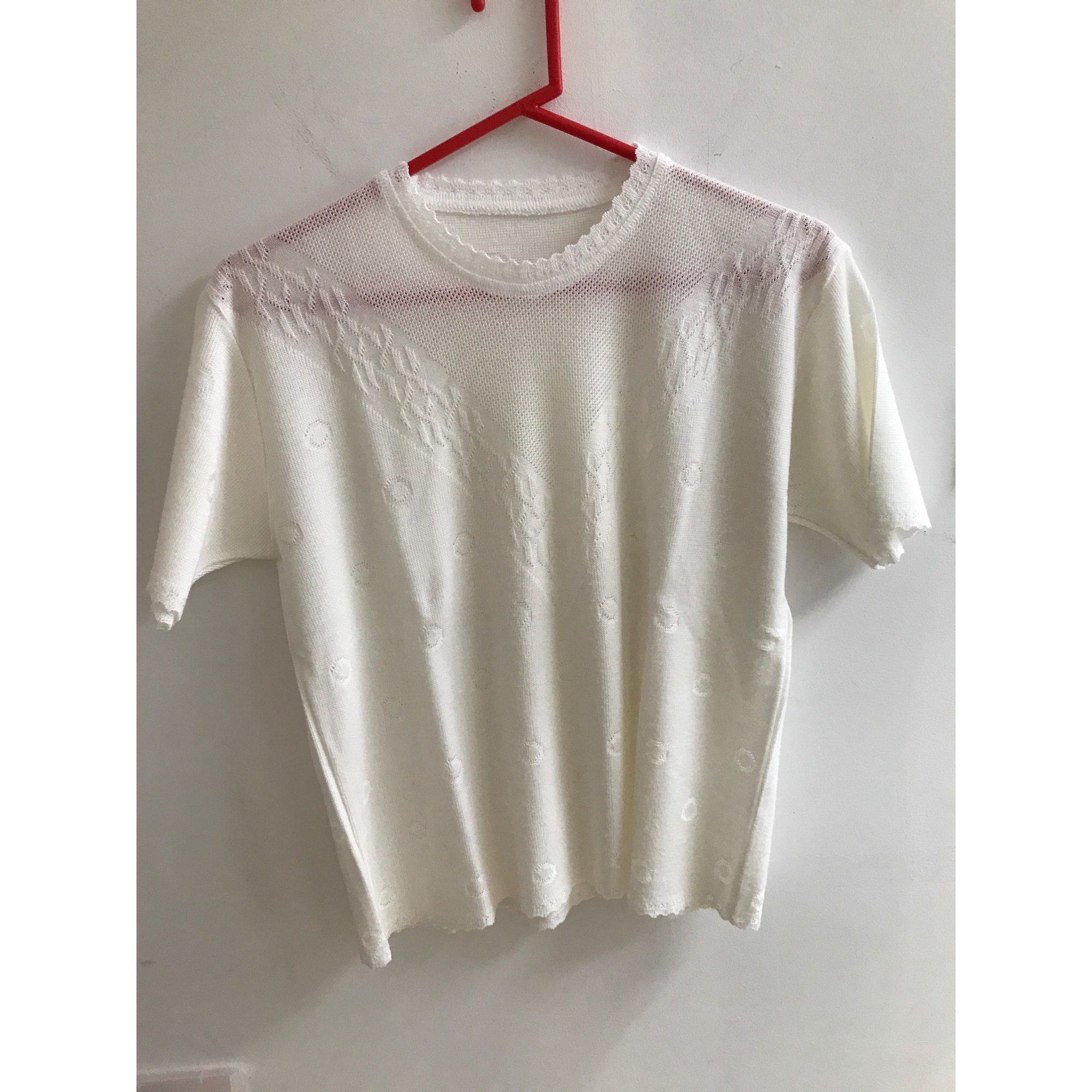 Top, tee-shirt AUTRE CHOSE Blanc, blanc cassé, écru