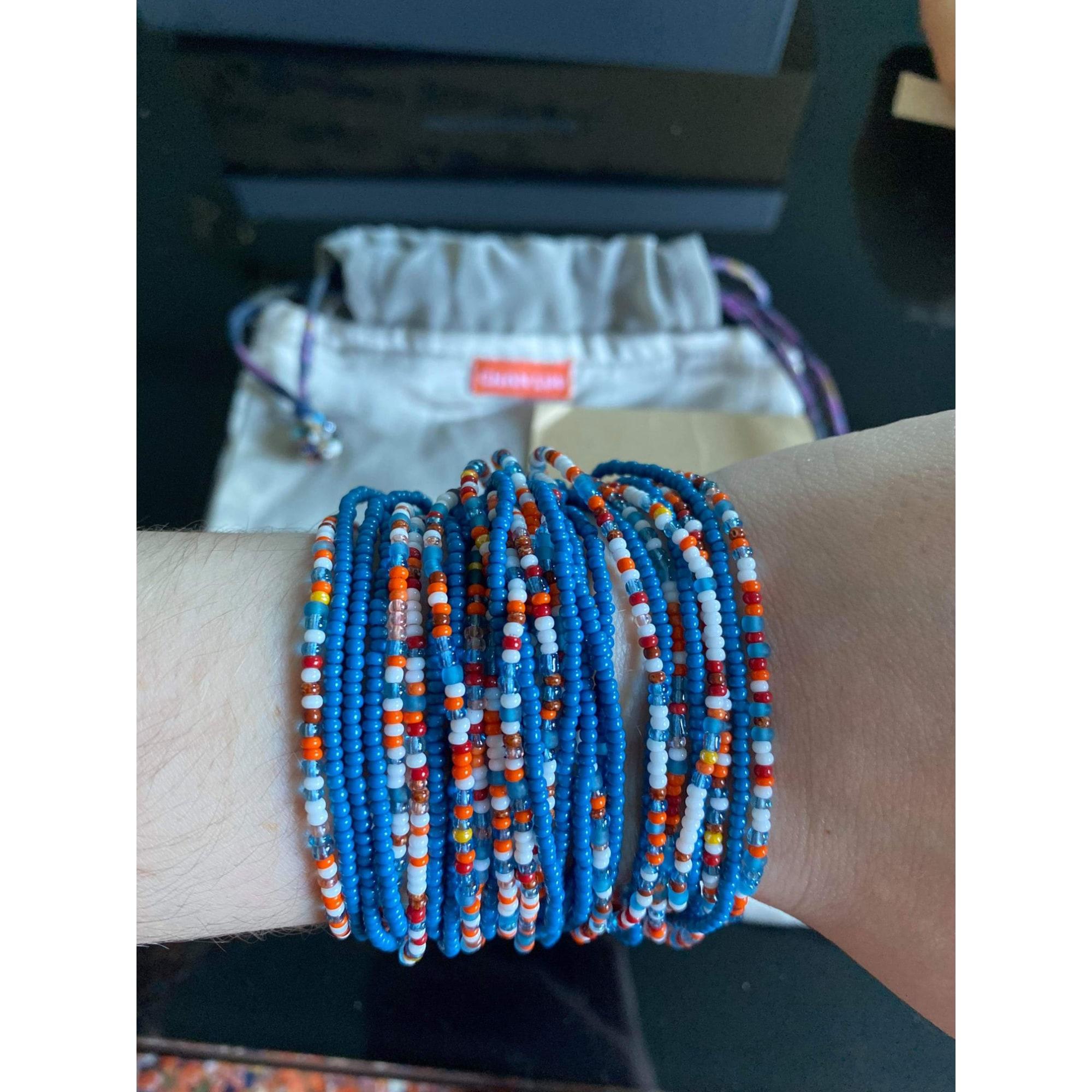 Bracelet CHAN LUU Bleu, bleu marine, bleu turquoise