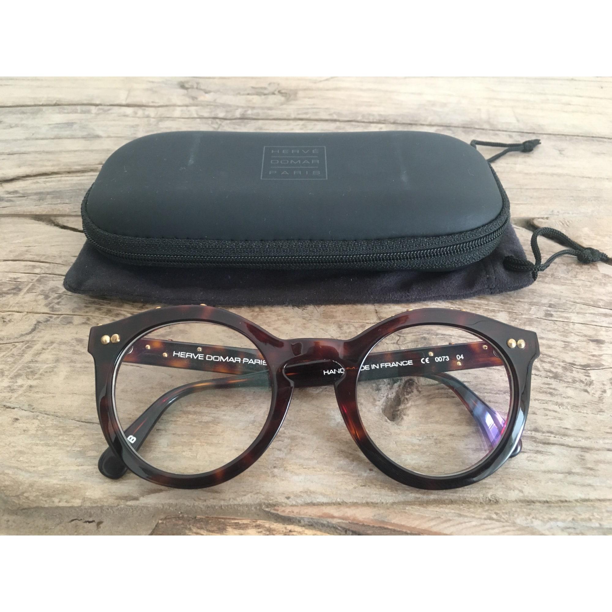Monture de lunettes HERVE DOMAR Ecaille