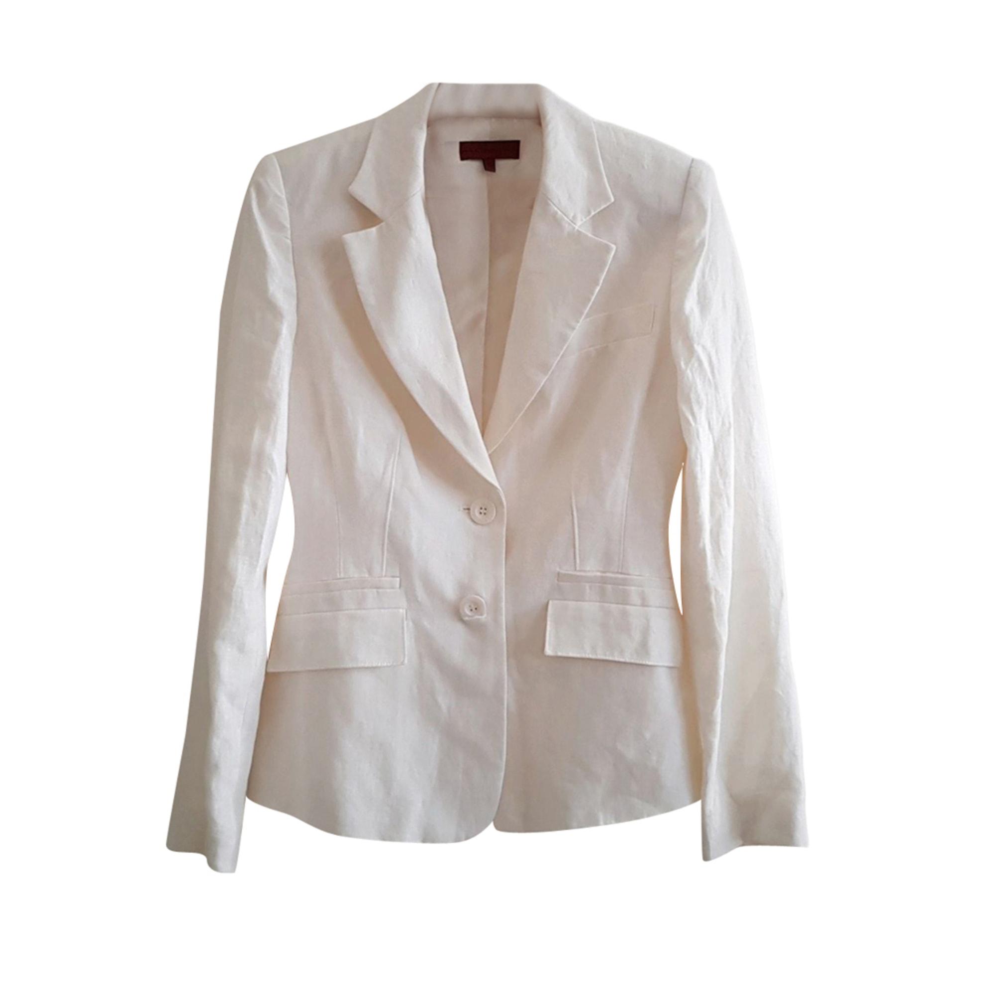 Blazer, veste tailleur JOHN RICHMOND Blanc, blanc cassé, écru