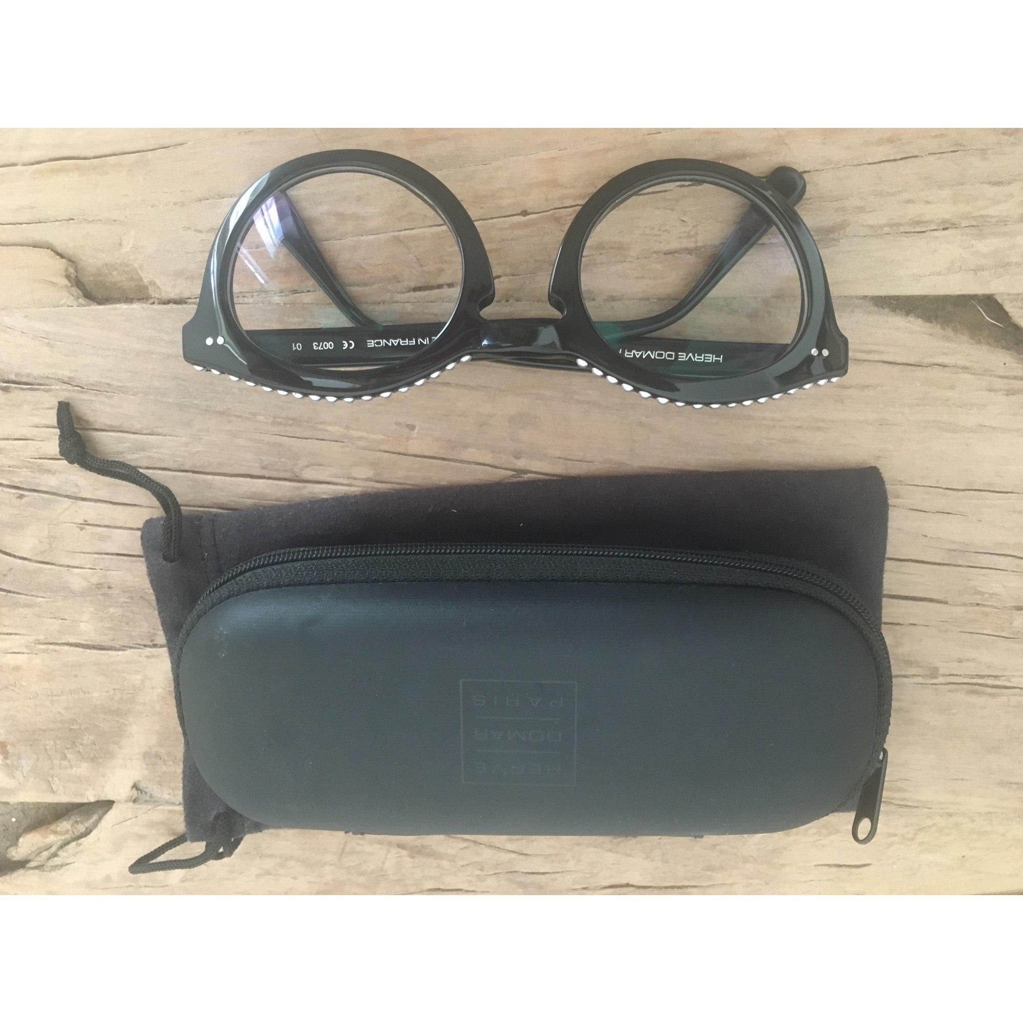 Monture de lunettes HERVE DOMAR Noir
