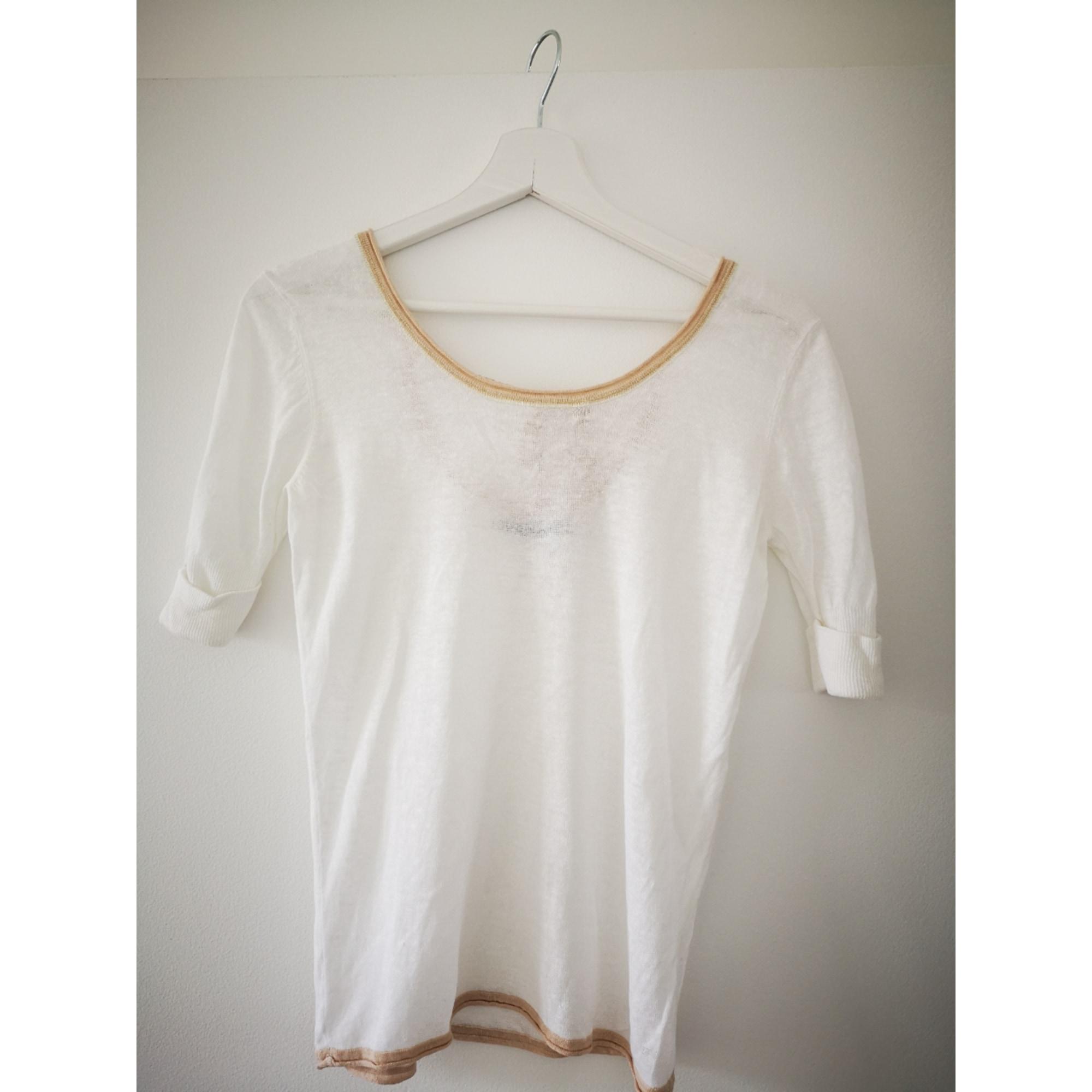 Top, tee-shirt KOOKAI Blanc, blanc cassé, écru