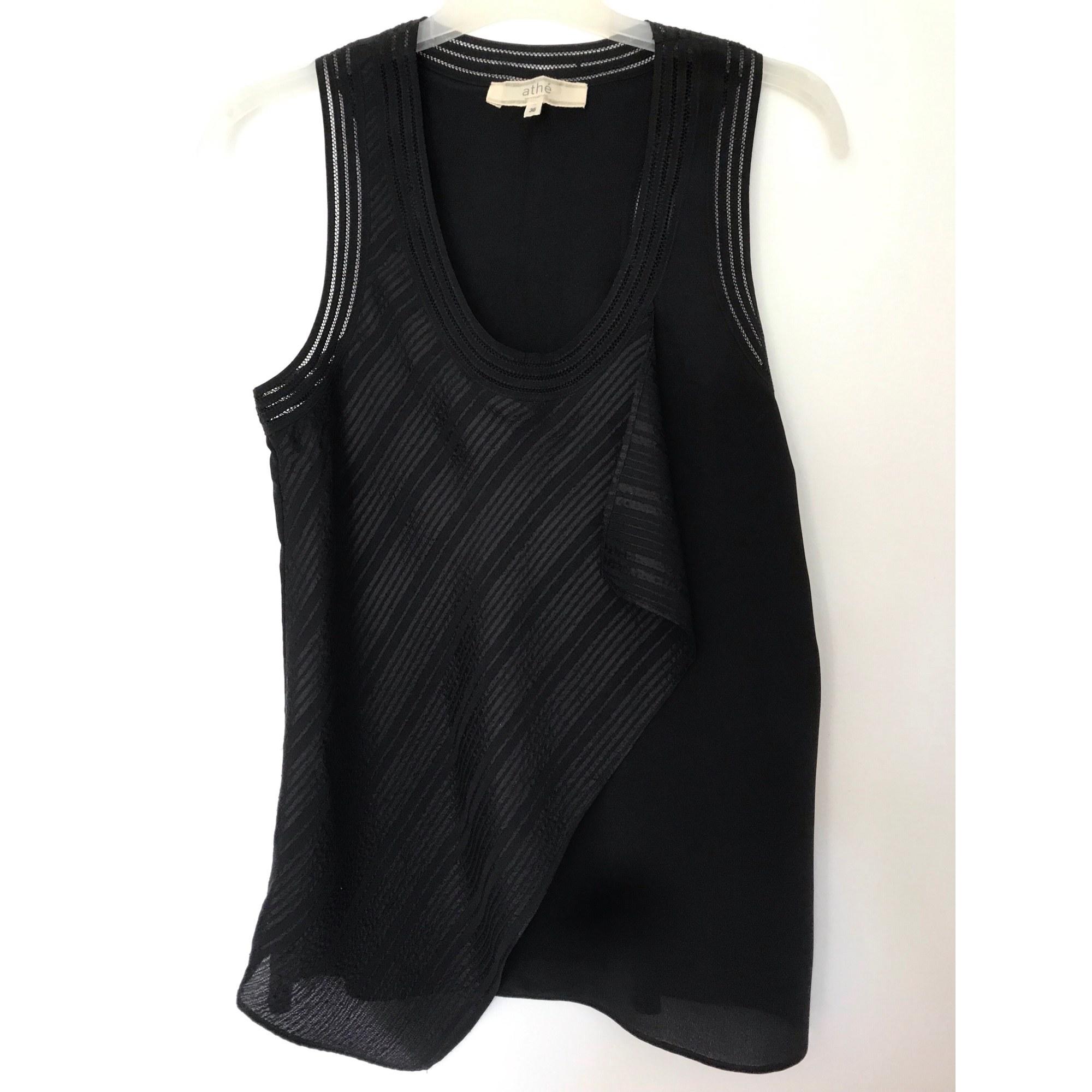 Top, tee-shirt ATHÉ VANESSA BRUNO Noir