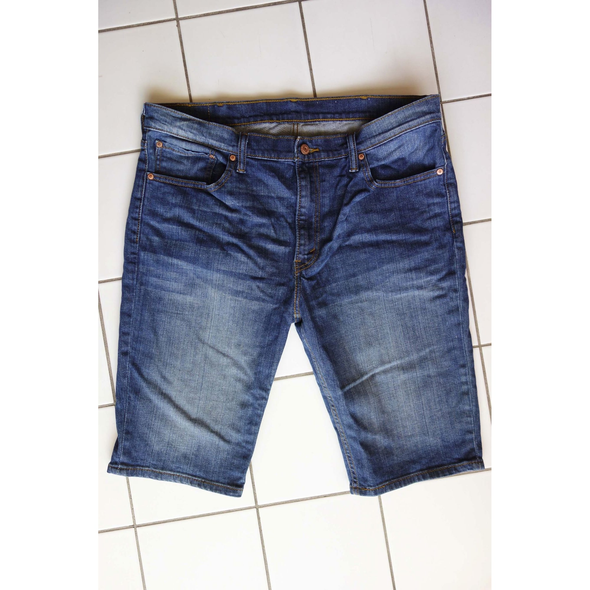 Short LEVI'S Bleu, bleu marine, bleu turquoise
