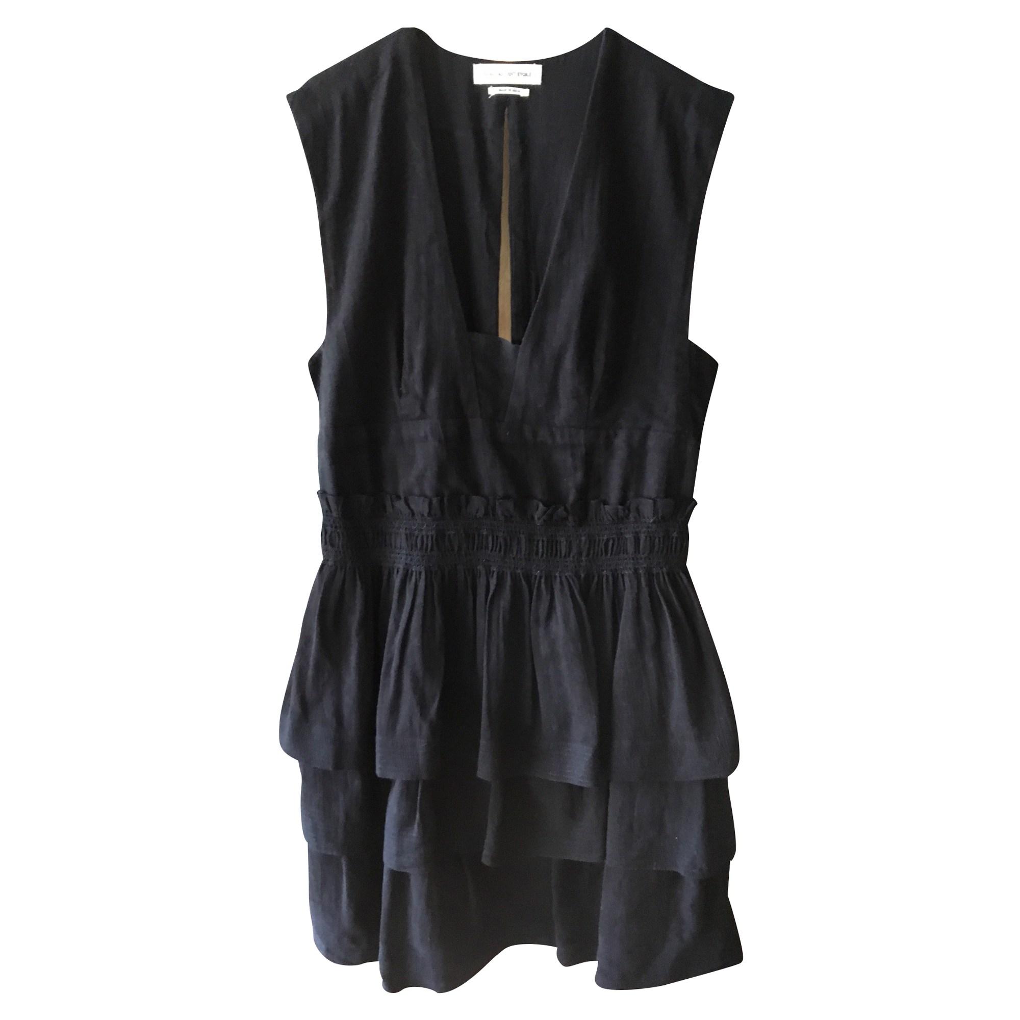Robe courte ISABEL MARANT ETOILE Noir