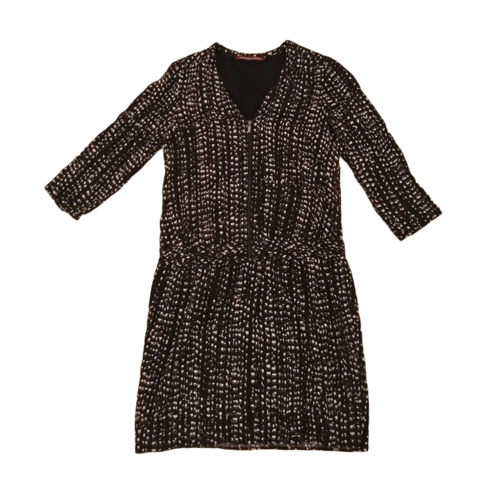 Mini Dress COMPTOIR DES COTONNIERS Black