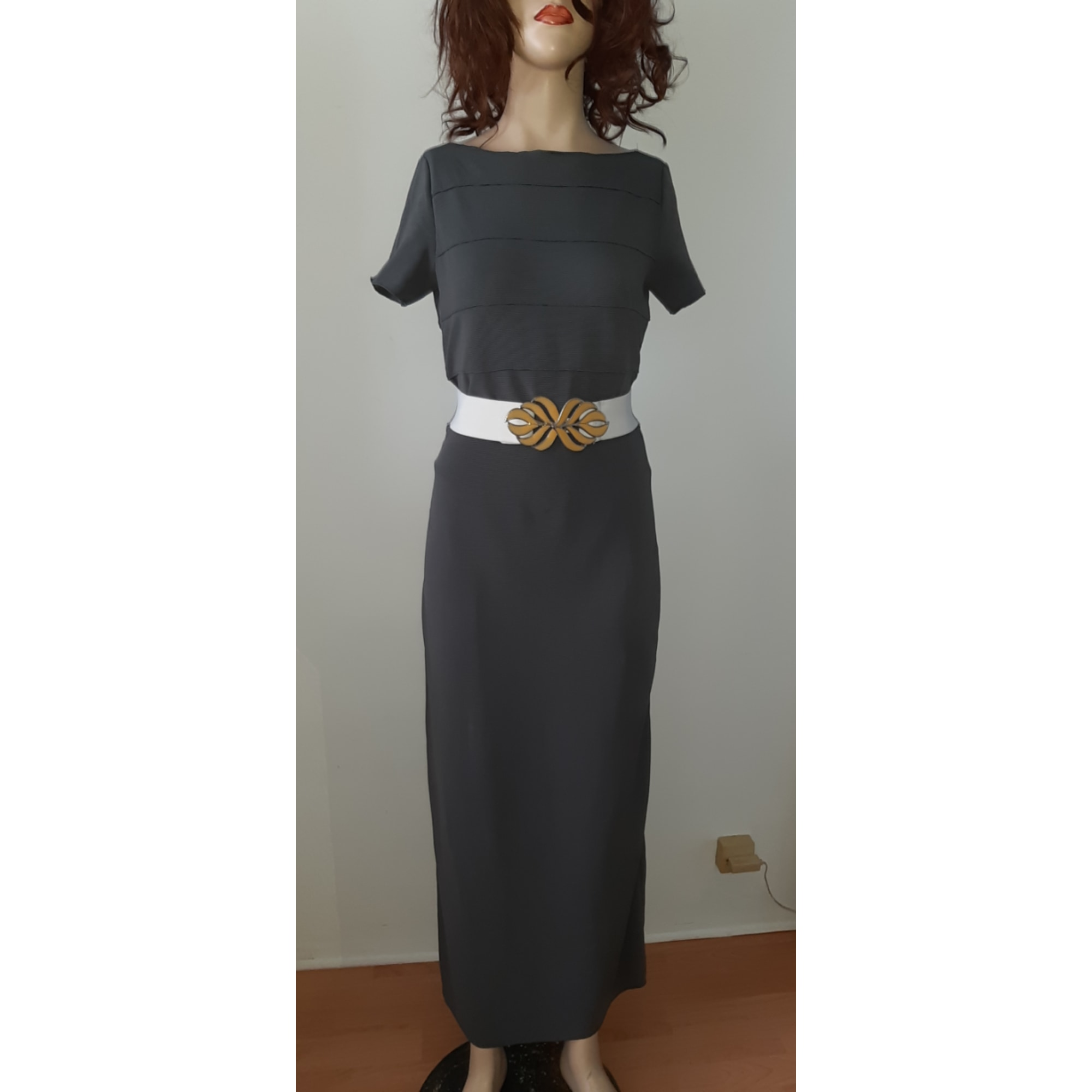 Robe longue ARMANI Kaki