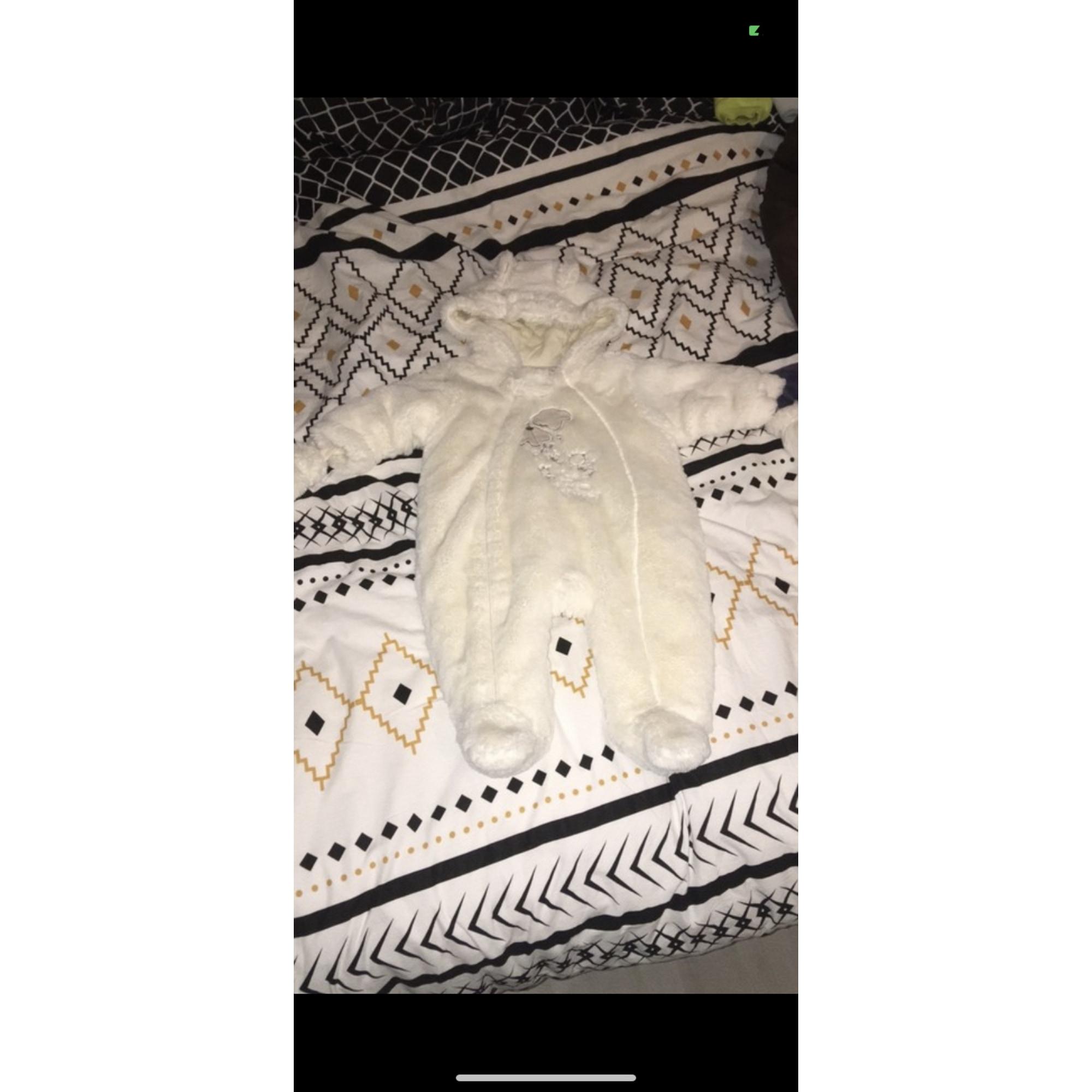 Manteau TISSAIA Blanc, blanc cassé, écru