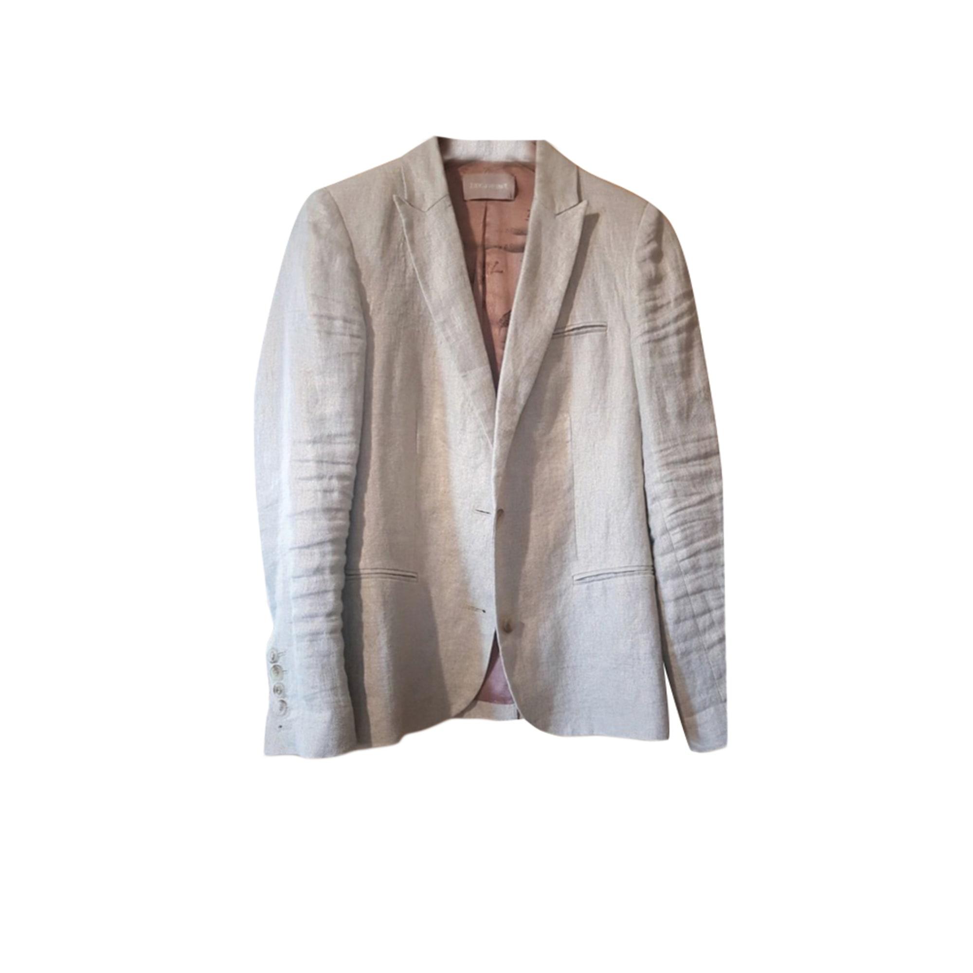Blazer, veste tailleur ZADIG & VOLTAIRE Blanc, blanc cassé, écru