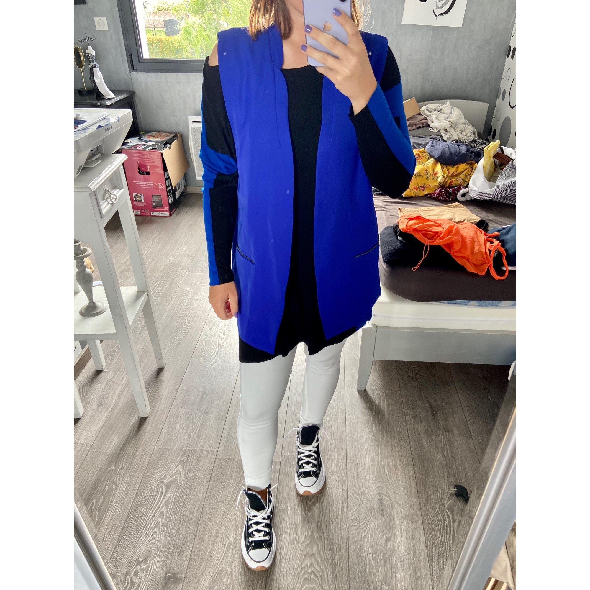 Veste ELEVEN PARIS Bleu, bleu marine, bleu turquoise