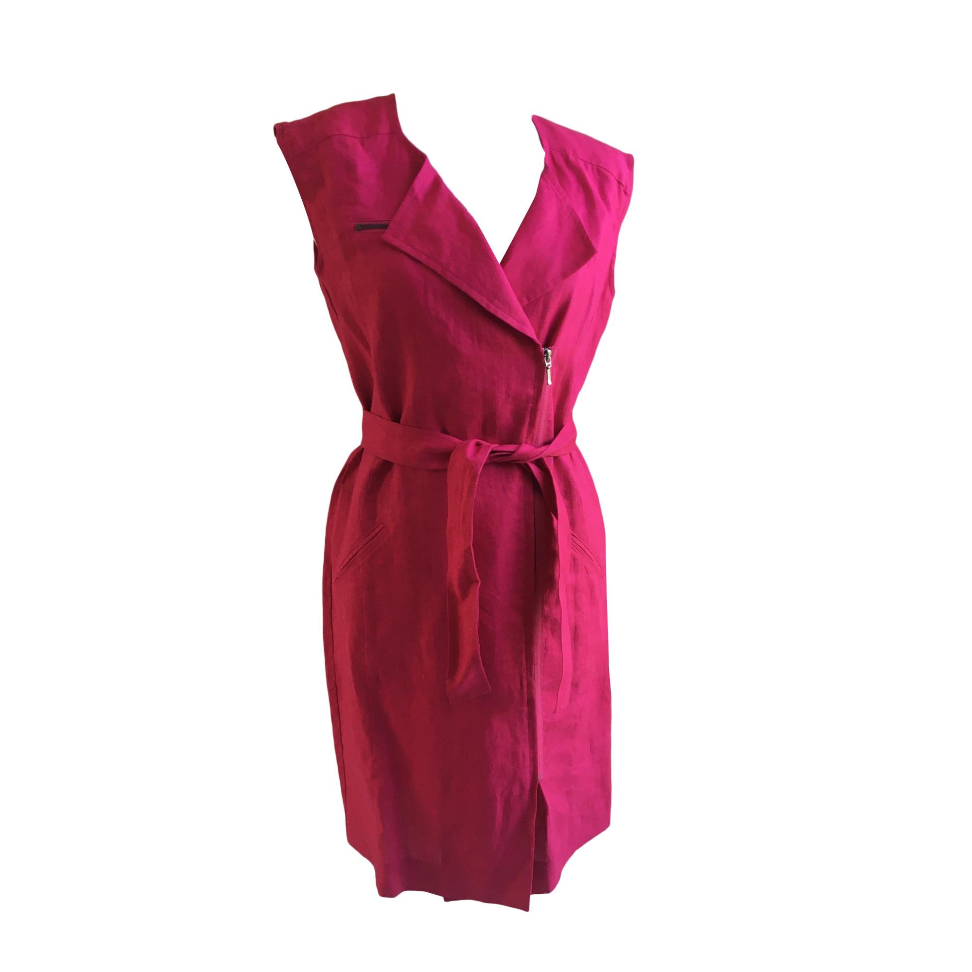 Robe mi-longue GERARD DAREL Rose, fuschia, vieux rose