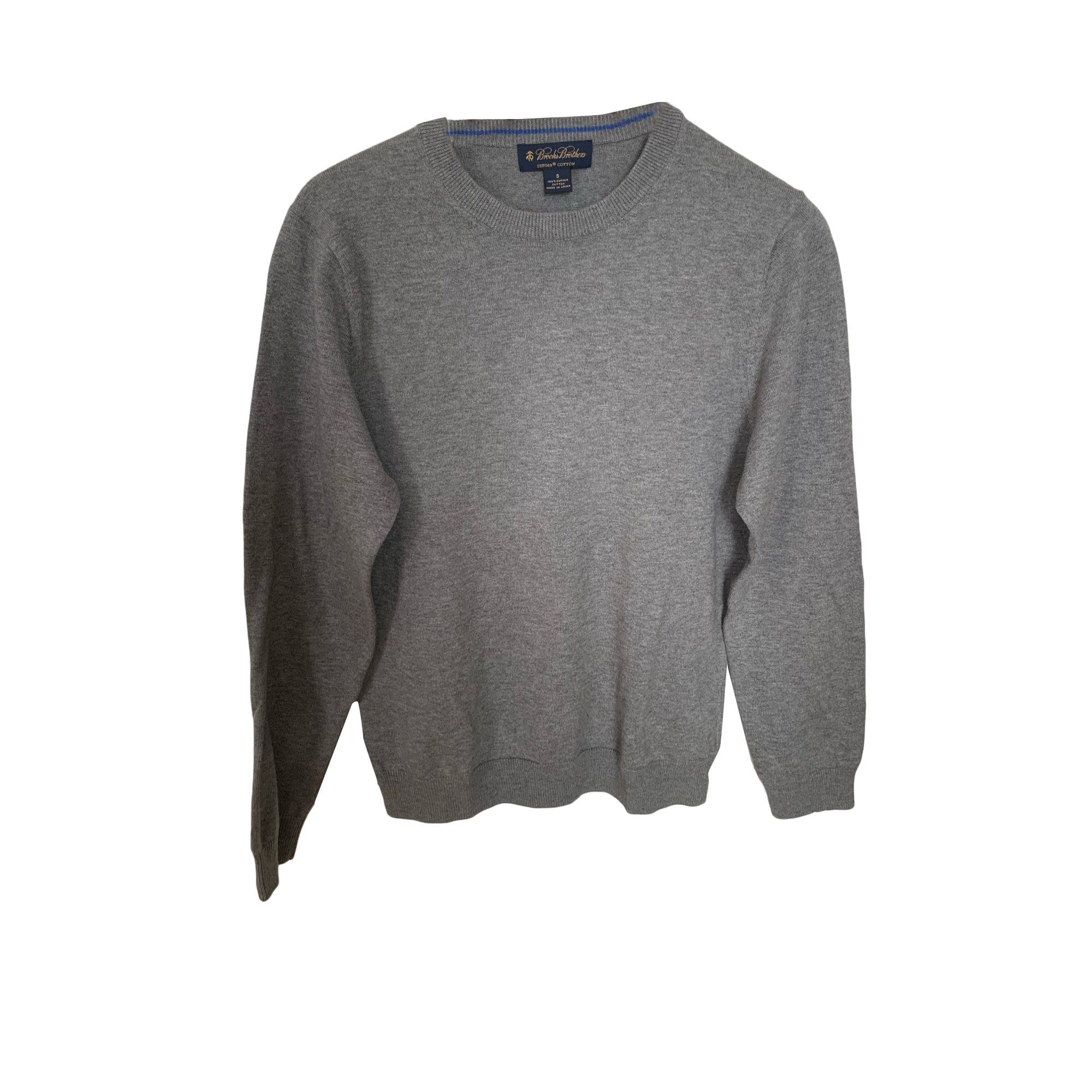 Pull BROOKS BROTHERS Gris, anthracite