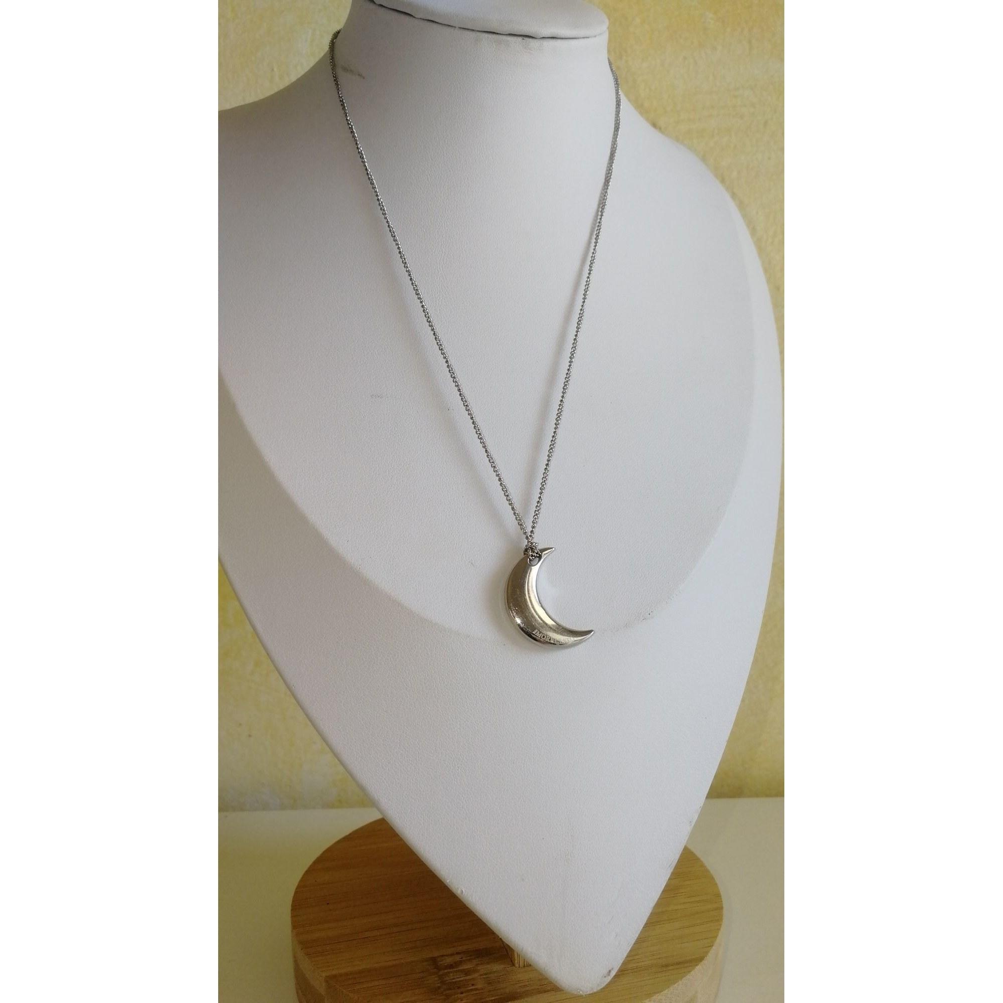 Pendentif, collier pendentif MORELLATO Argenté, acier