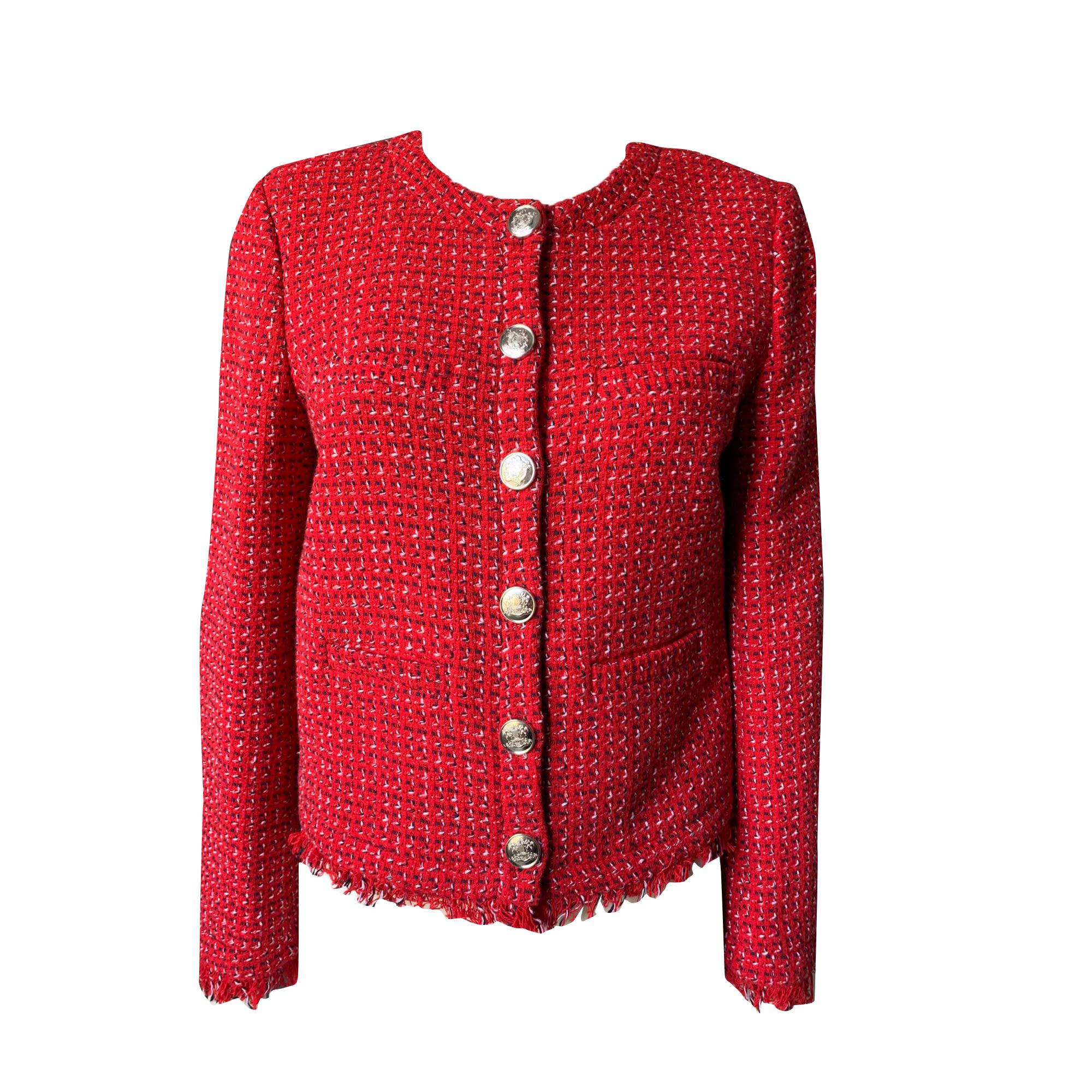 Blazer, veste tailleur CLAUDIE PIERLOT Rouge, bordeaux