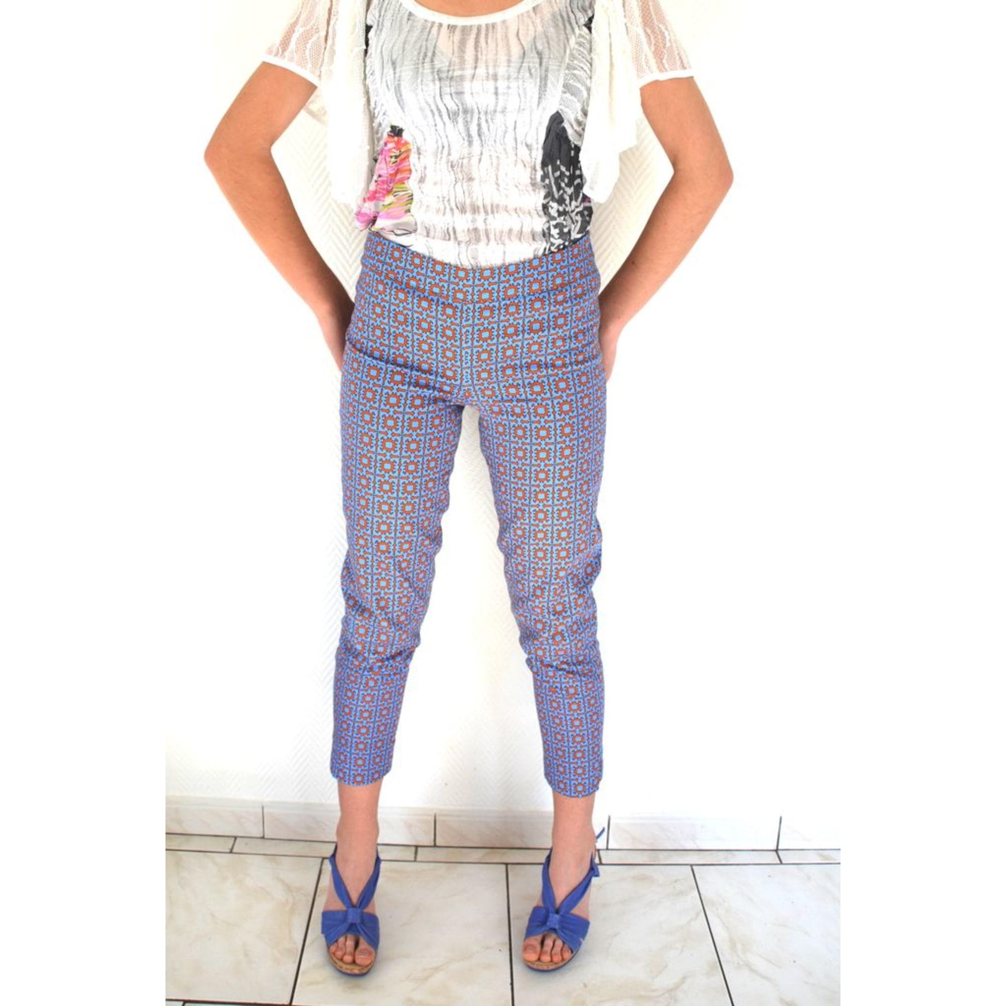 Pantalon slim, cigarette SAVE THE QUEEN Multicouleur