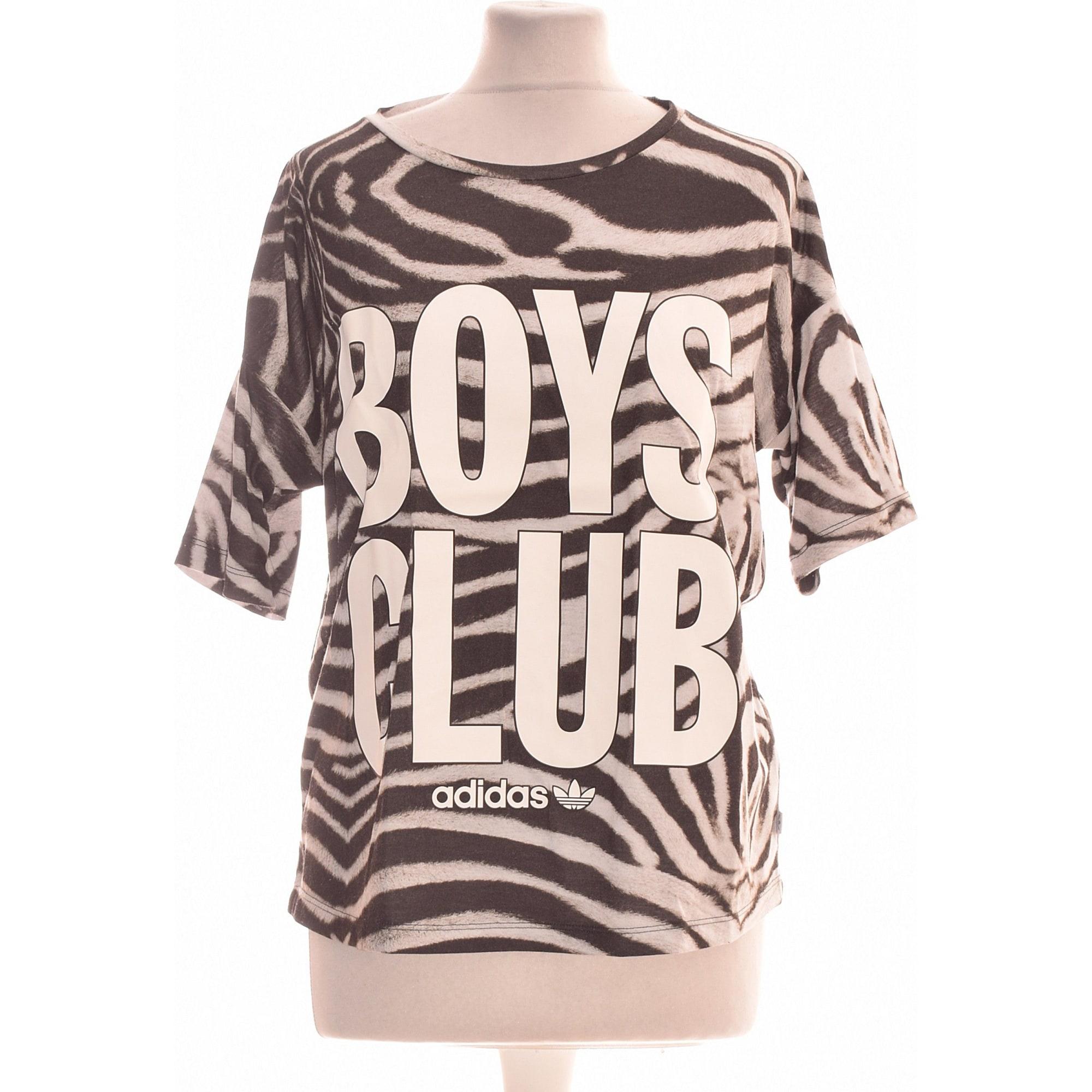 Tops, T-Shirt ADIDAS Grau, anthrazit