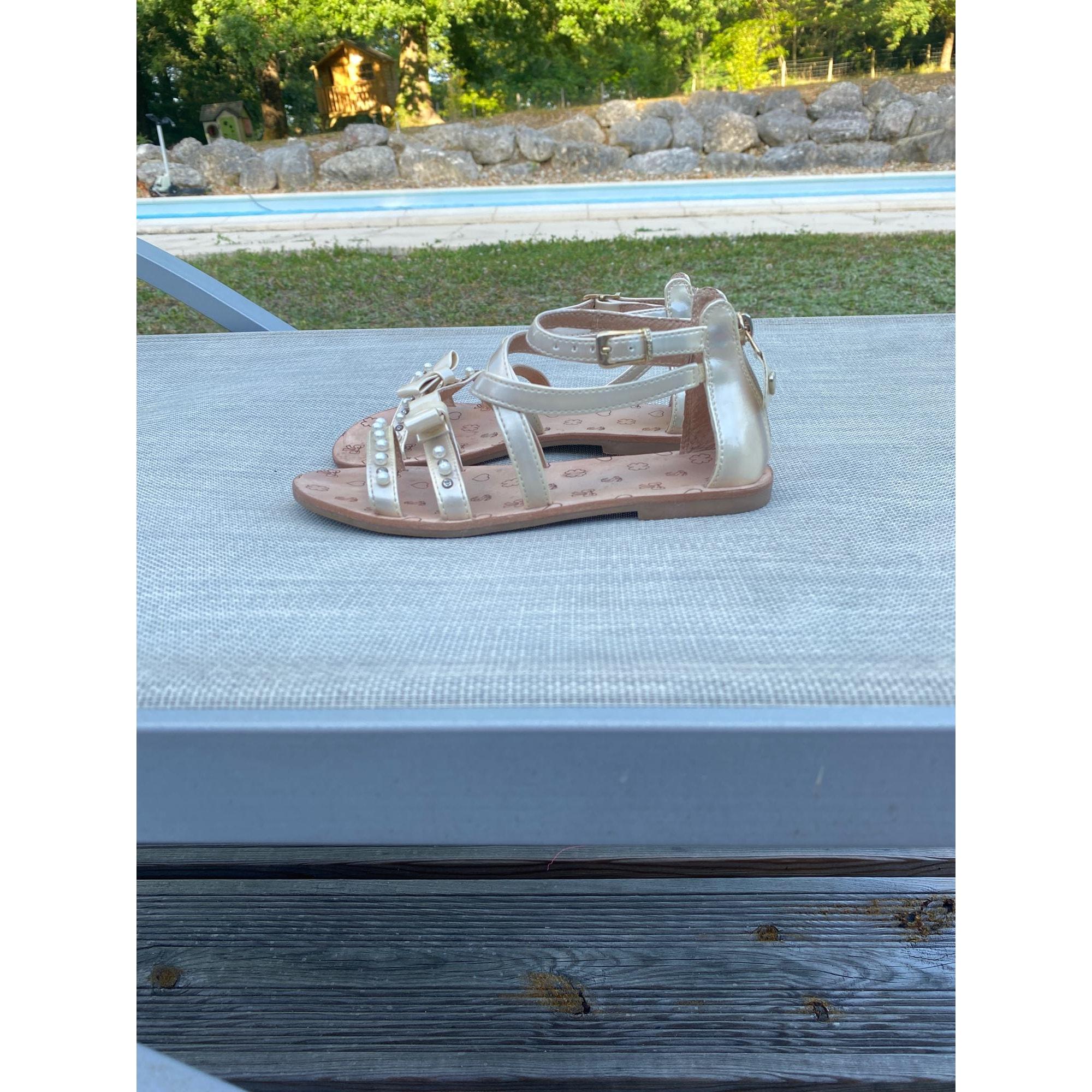 Chaussures à boucle TWIN-SET SIMONA BARBIERI Beige, camel