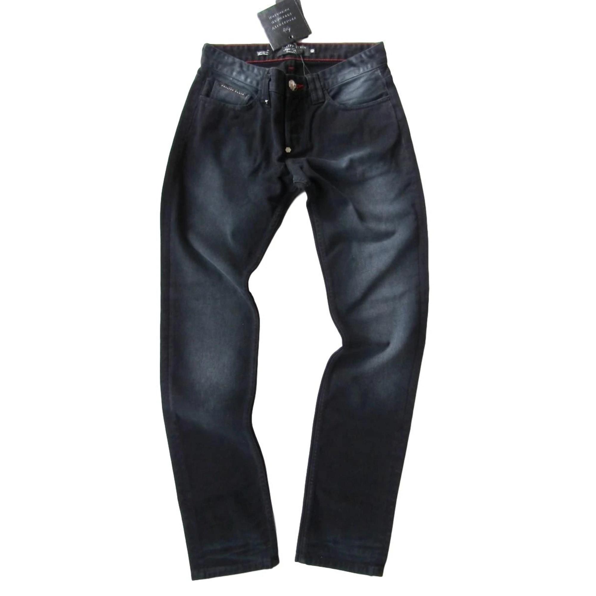Jeans droit PHILIPP PLEIN Noir