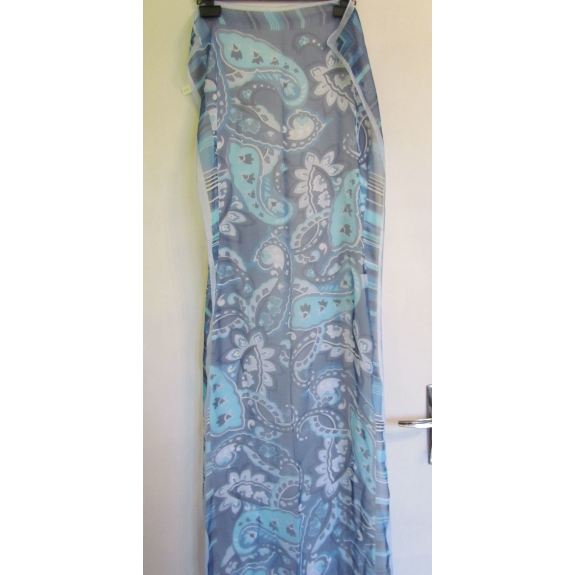 Foulard INCONNUE Bleu, bleu marine, bleu turquoise